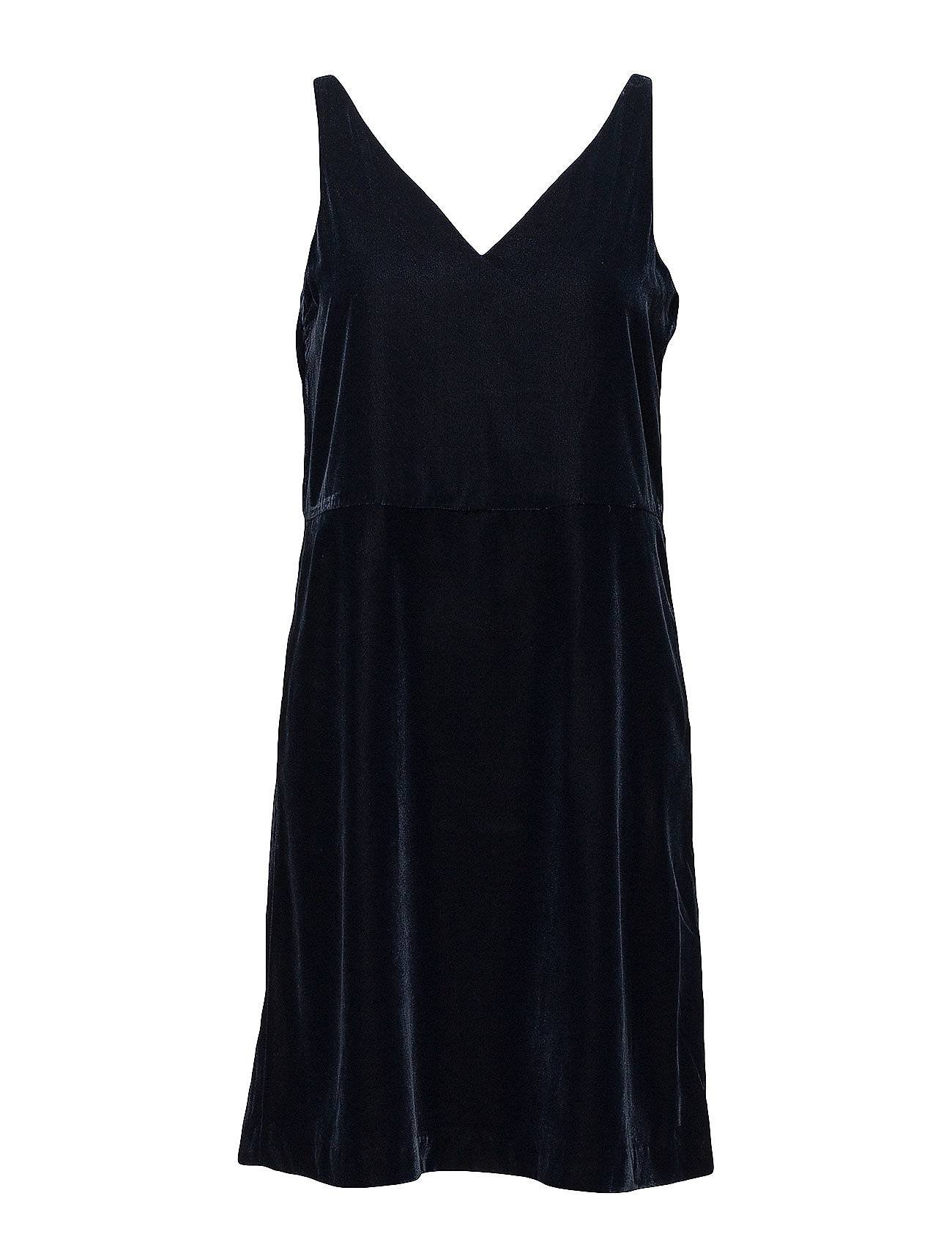 Selected Femme Sfamita Velvet Strap Dress