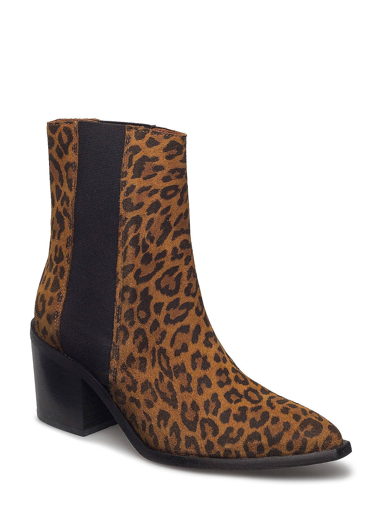 Selected Femme Sfelena High Shafted Leopard Boot