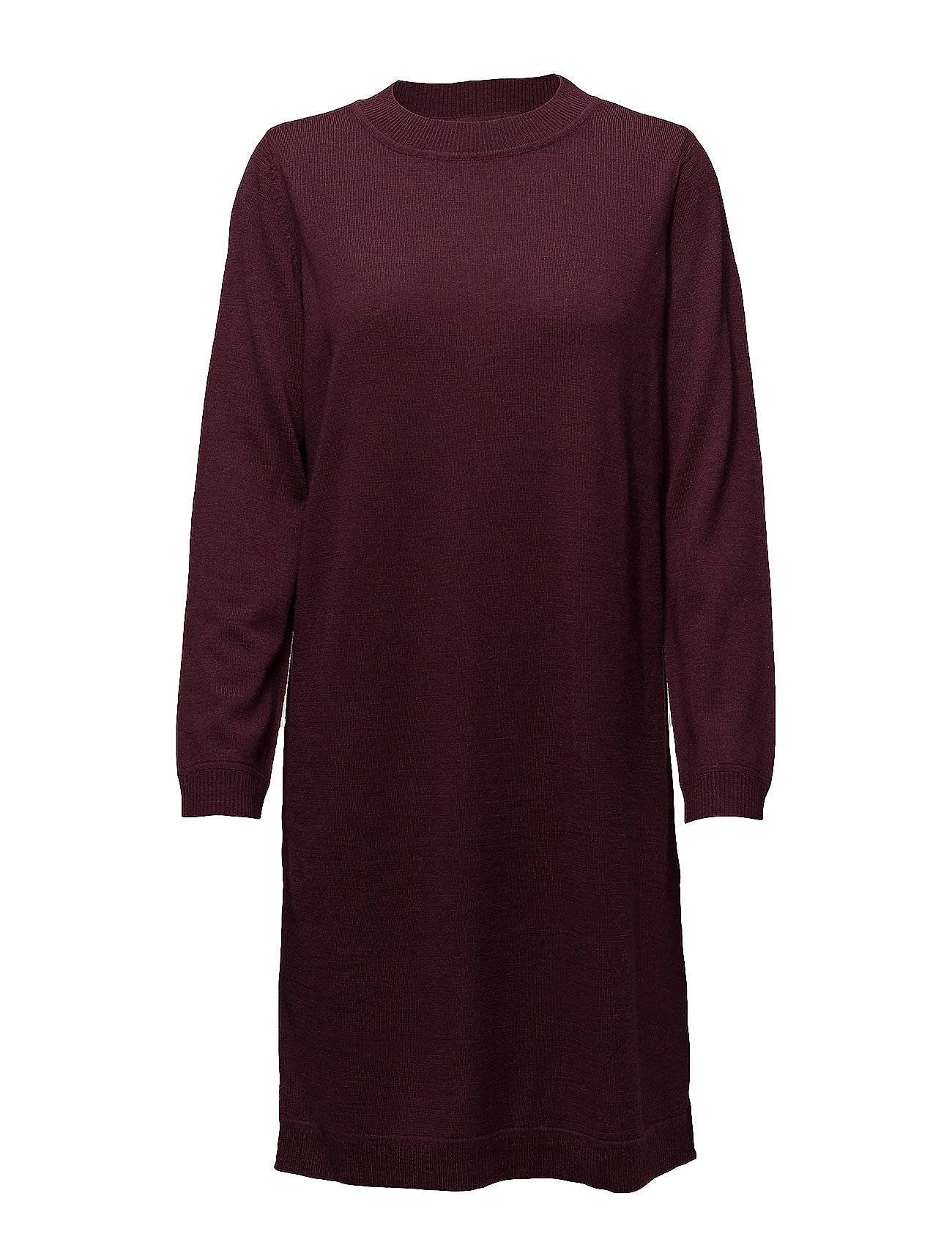 Selected Femme Sfeileen Ls Knit O-Neck Dress