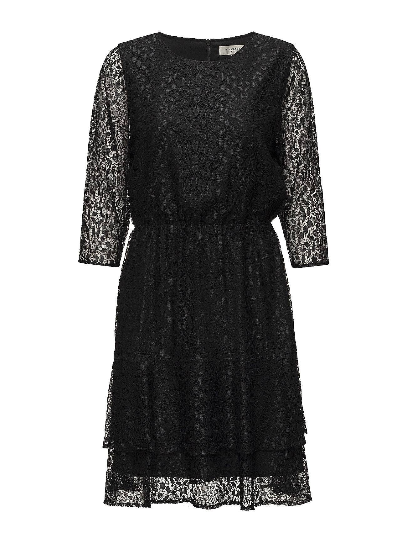 Selected Femme Sfmarcia 3/4 Lace Dress