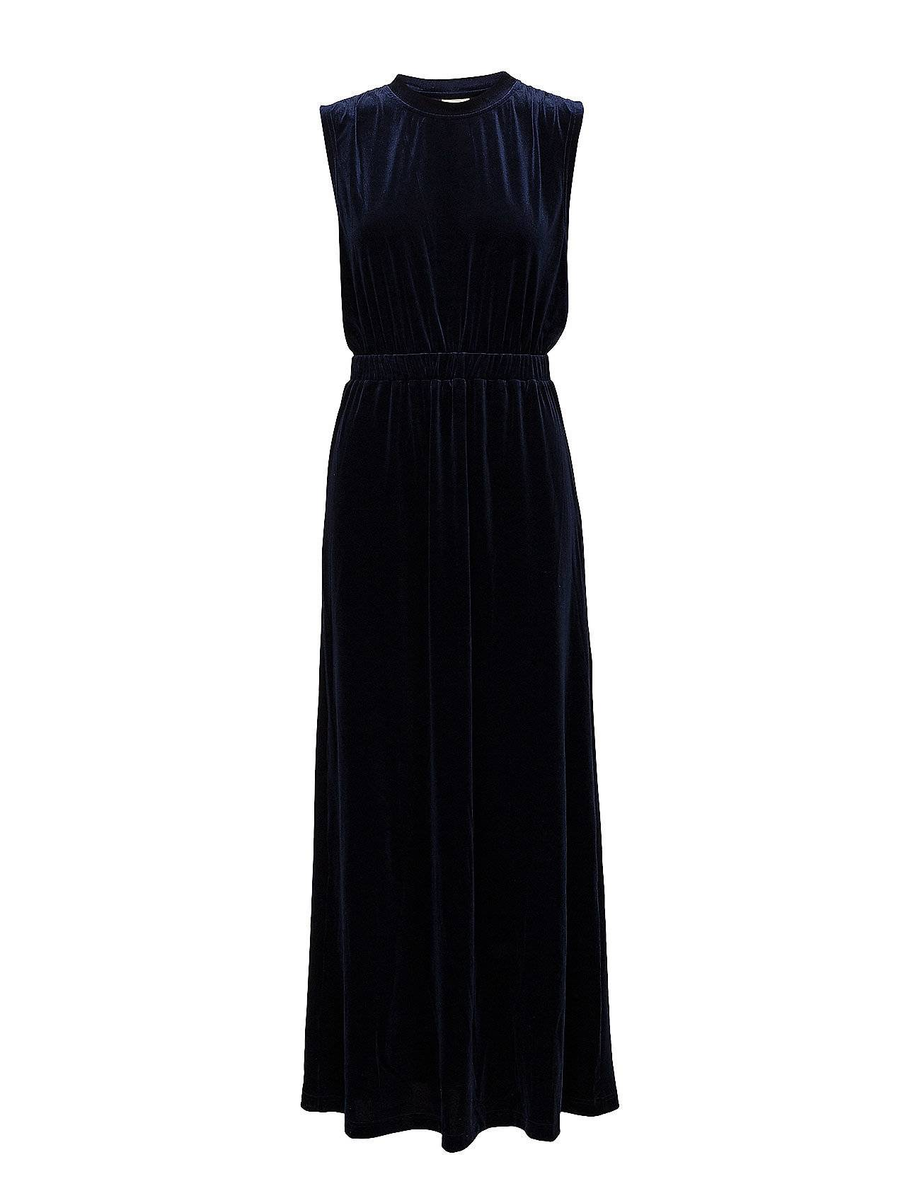 Selected Femme Sftanne Sl Velvet Maxi Dress Ofw
