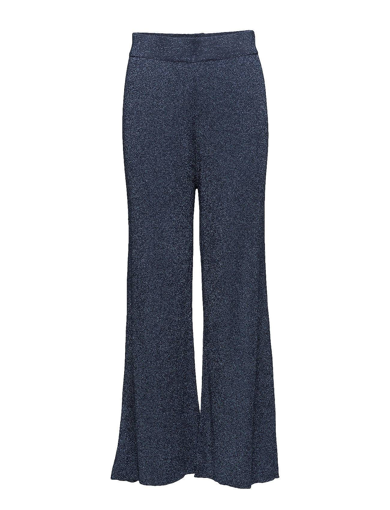 Selected Femme Sfsada Mw Cropped Knit Pant Ofw
