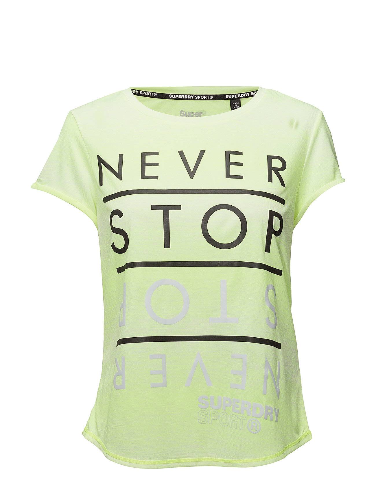 Superdry Sport Sd Sport Fitspiration Ombre Tee