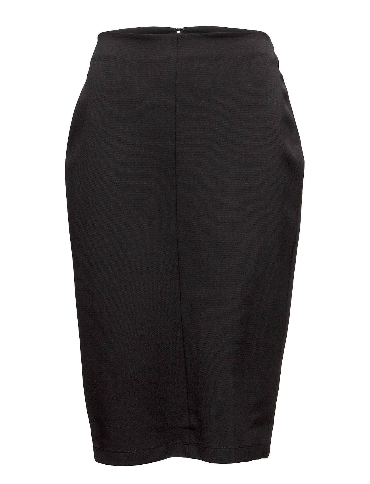 T by Alexander Wang Stretch Faille Over The Knee Pencil Skirt