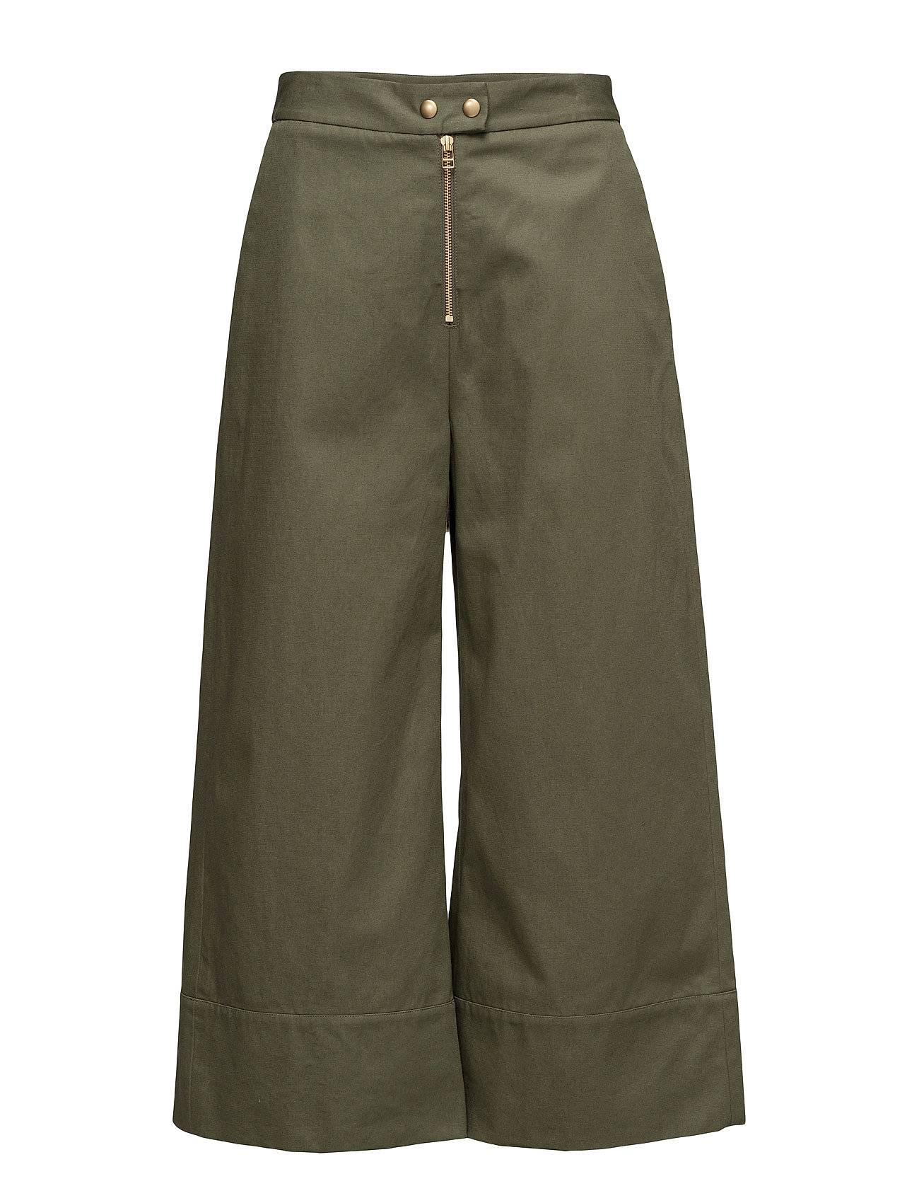 T by Alexander Wang Garment Washed Lightweight Cotton Cropped Pants