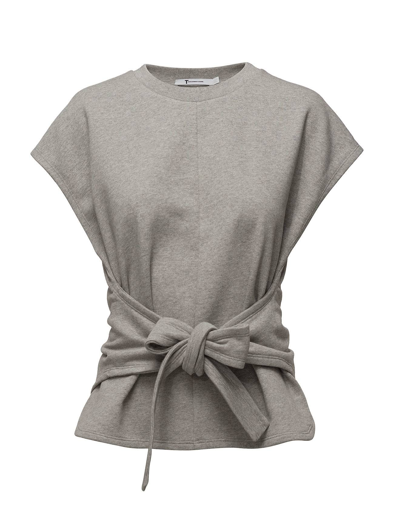 T by Alexander Wang S/S Wrap Front Top