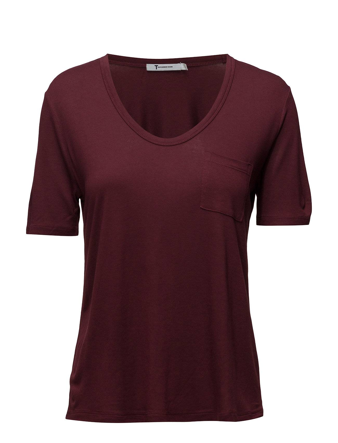 T by Alexander Wang Cropped Tee Withchest Pocket