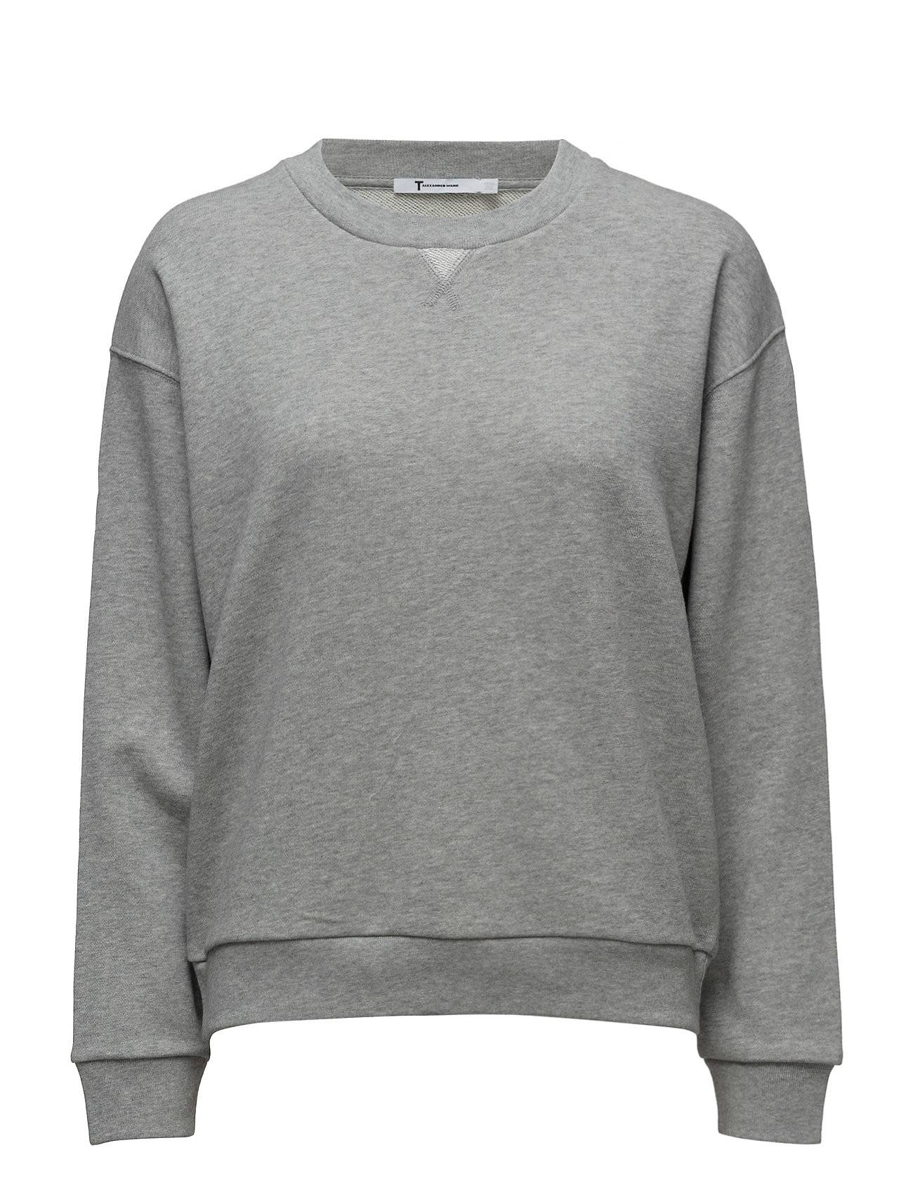 T by Alexander Wang Soft French Terry Sweatshirt