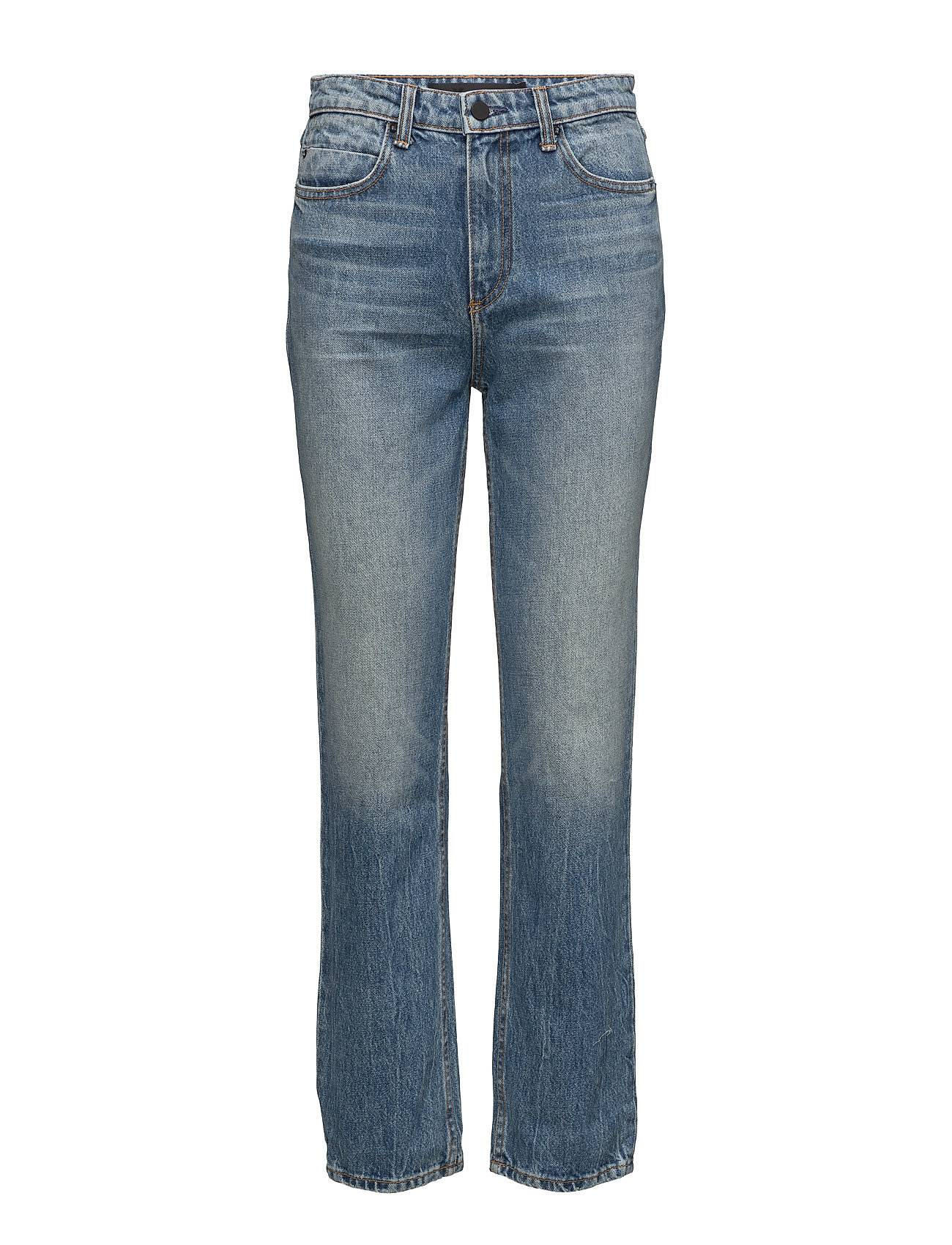 T by Alexander Wang Cult Cropped Straight Light Indigo Aged
