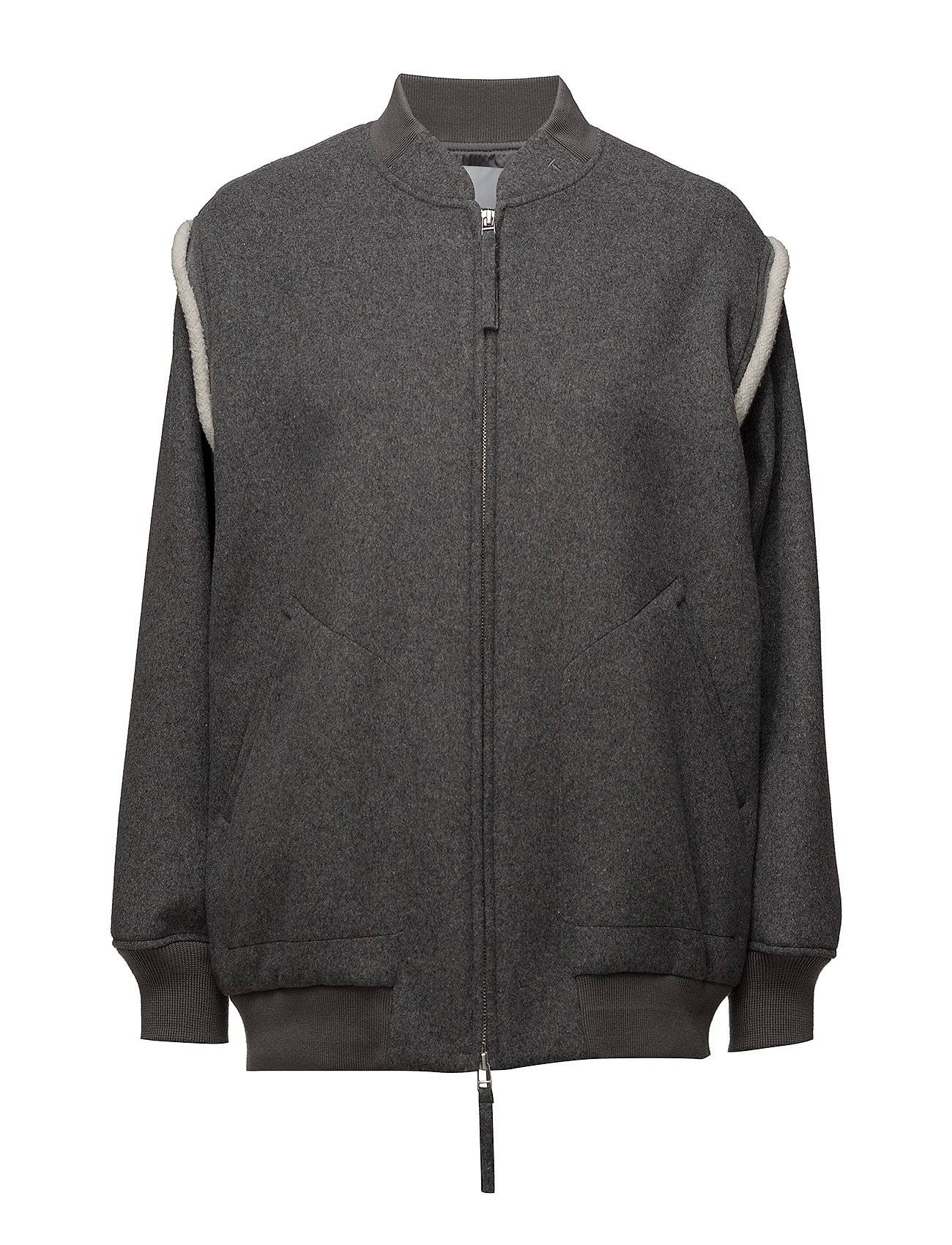T by Alexander Wang Double Faced Wool Jacket