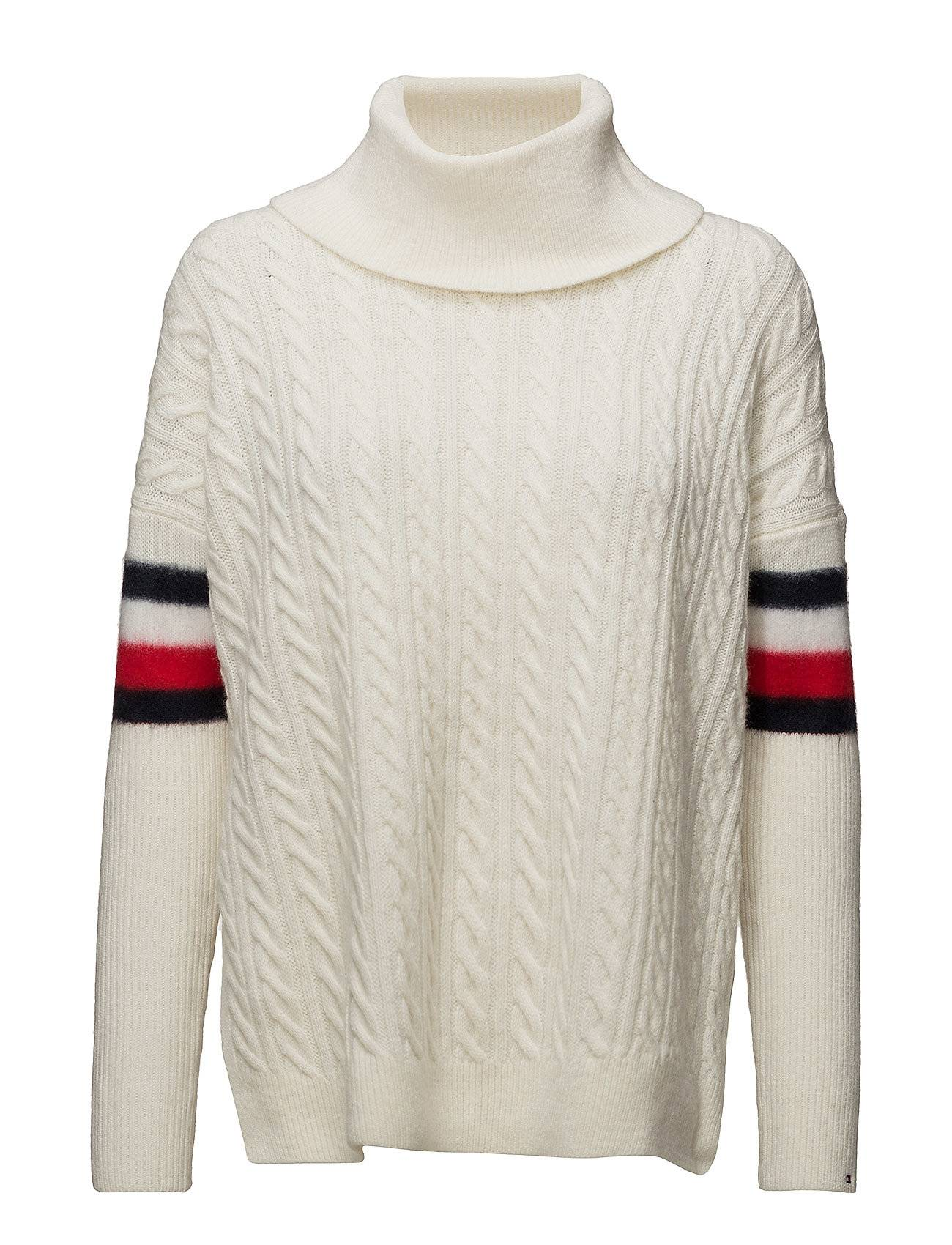 Tommy Hilfiger Aida Cable Cape Swtr