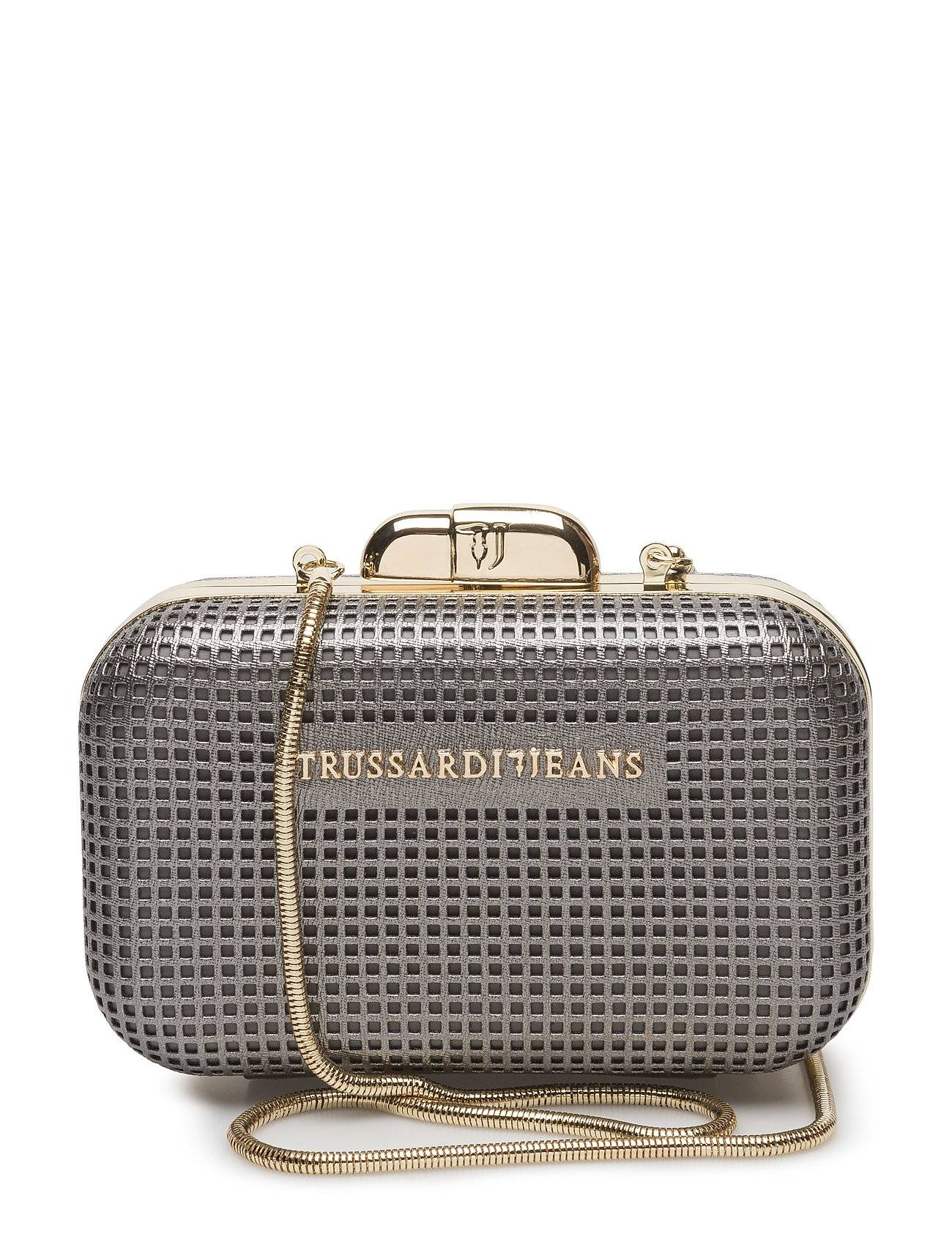 TRUSSARDI JEANS Red Carpet Ecoleather Net Miniaudiere