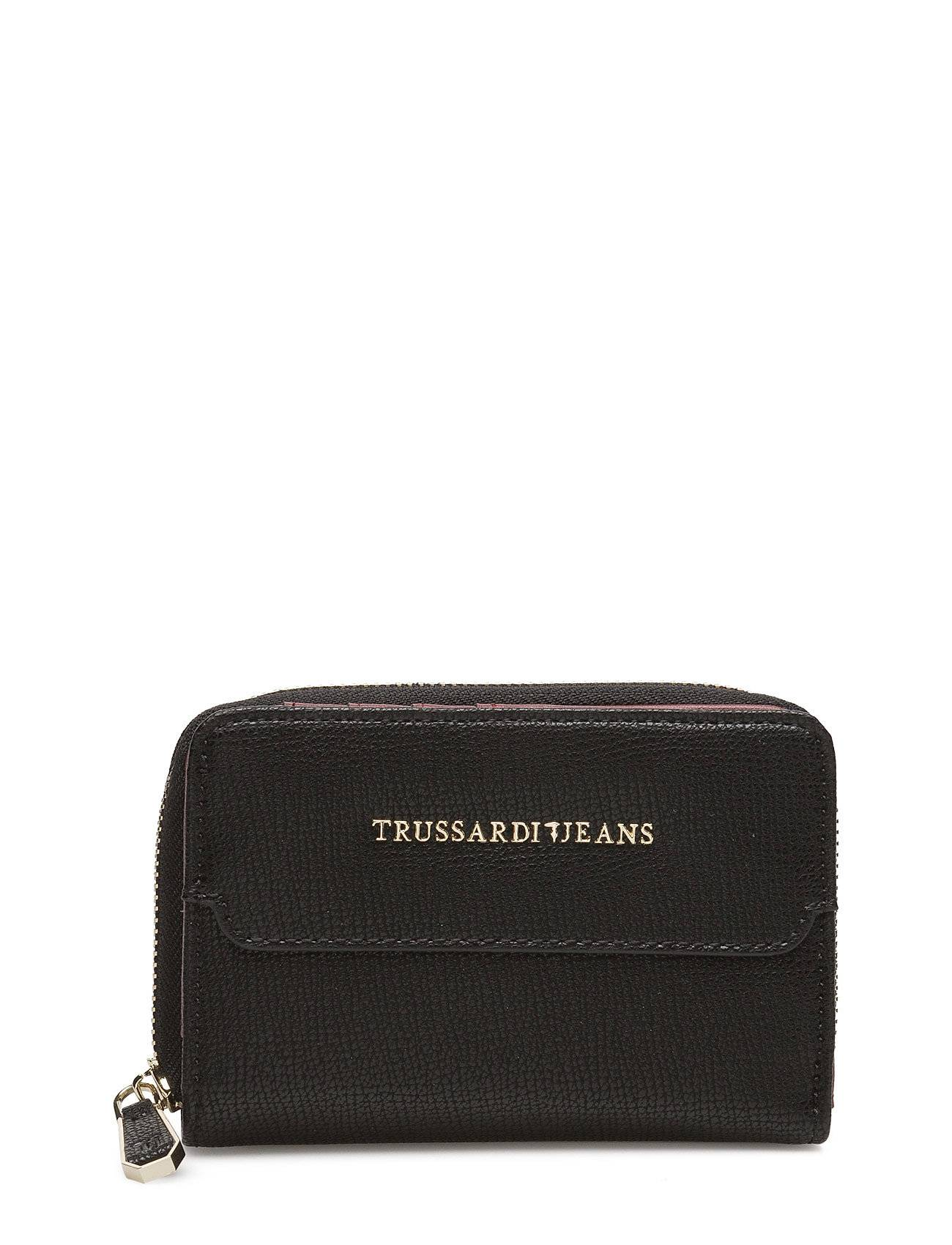 TRUSSARDI JEANS Vail Ecoleather Saffiano Wallet
