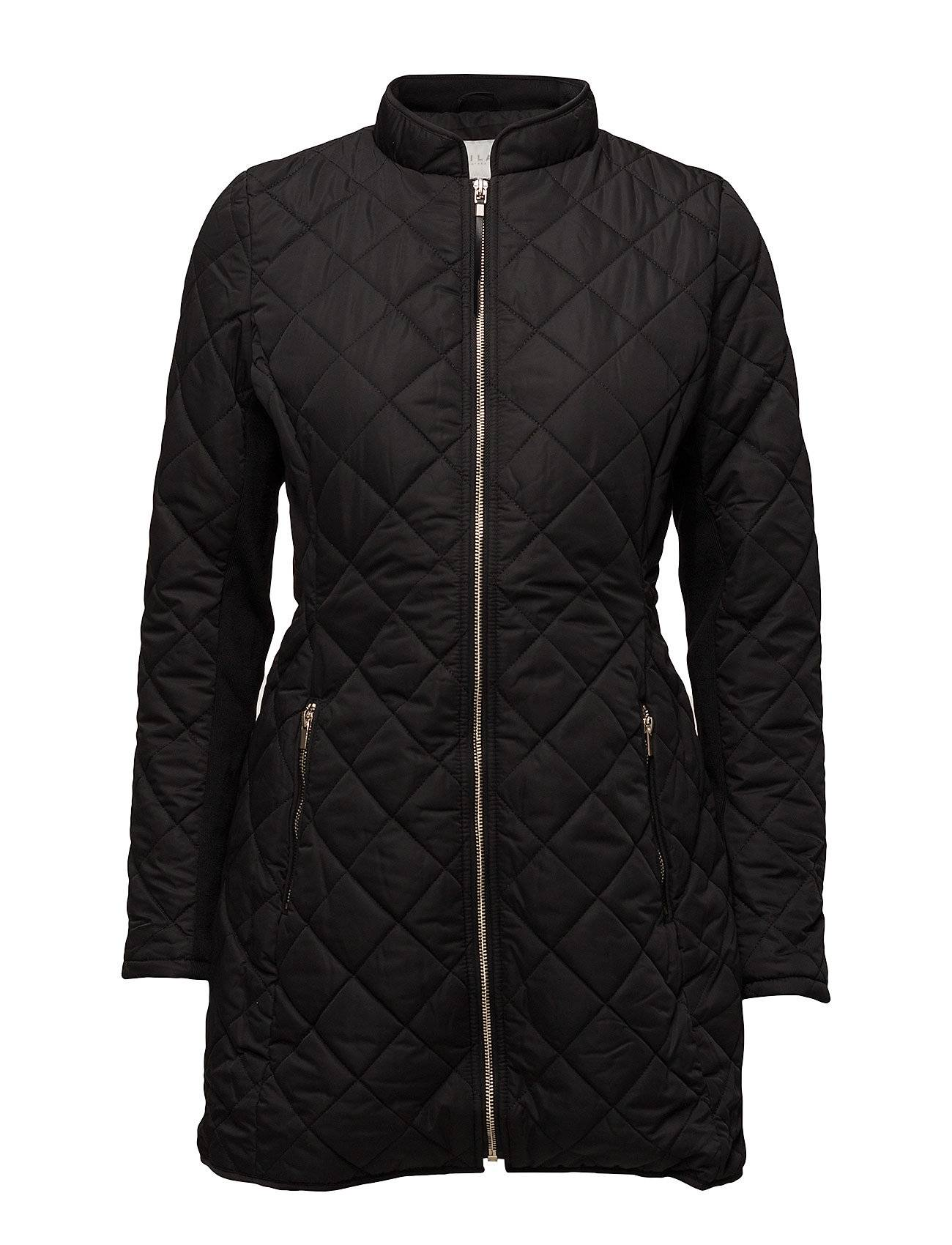 Vila Vipippi Long  Quilted Jacket Tb