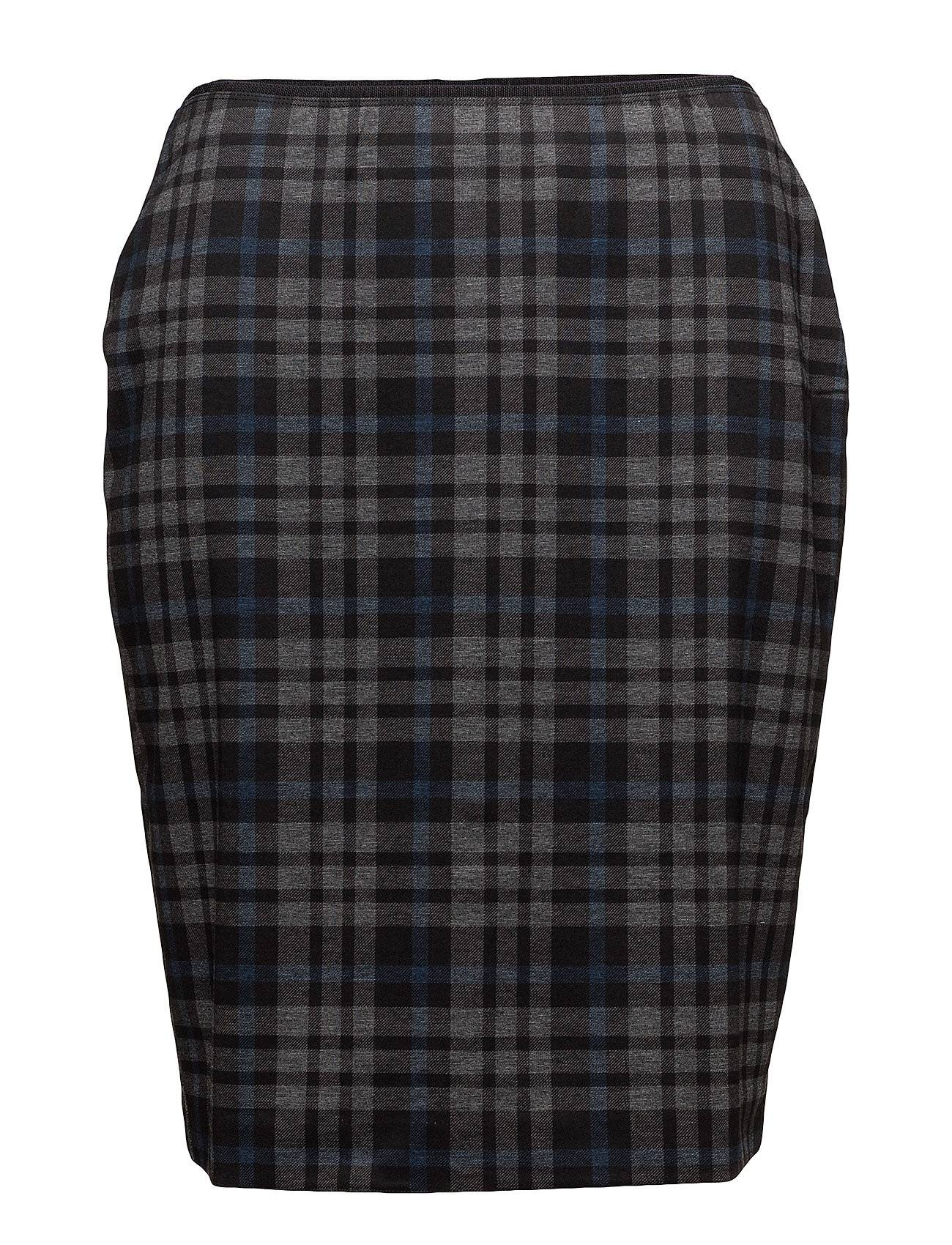 Violeta by Mango Check Design Skirt