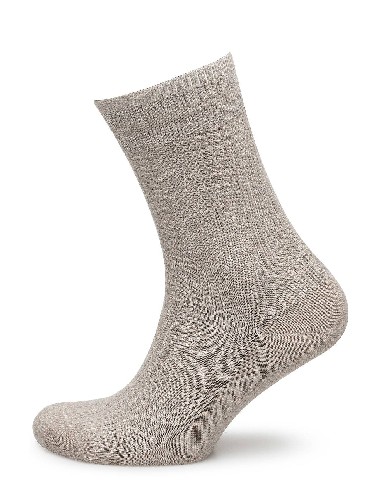 Vogue Ladies Anklesock, Grace Cable Sock