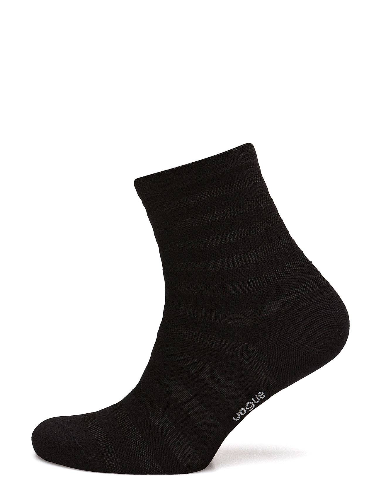 Vogue Ladies Anklesock, Cotton Shiny Stripe