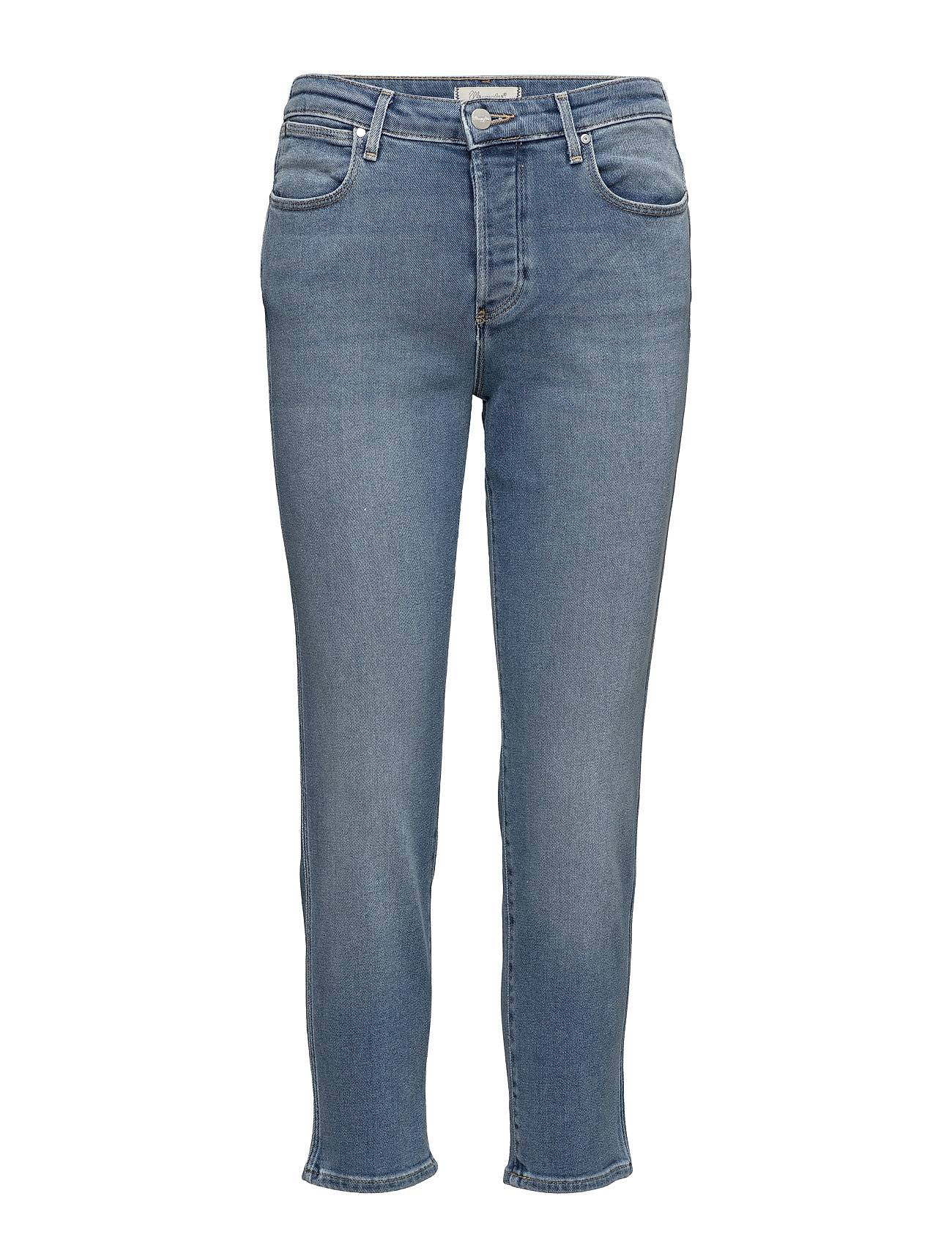Wrangler Cropped Straight  Blue Jean Baby