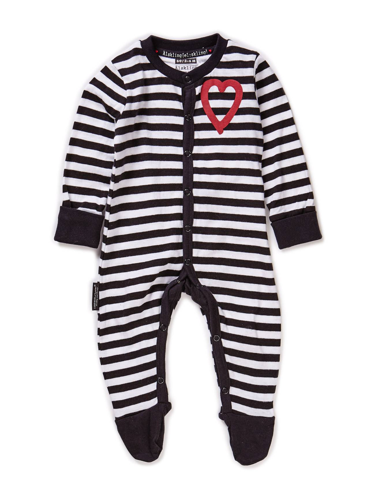 Lundmyr Pyjamas, W Foot, Striped