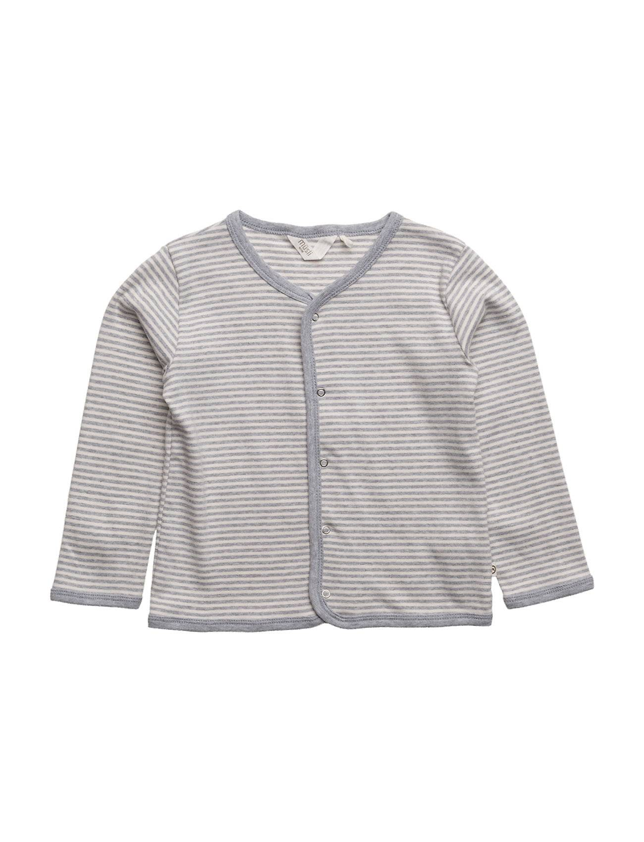 Müsli by Green Cotton Stripe Cardigan Baby