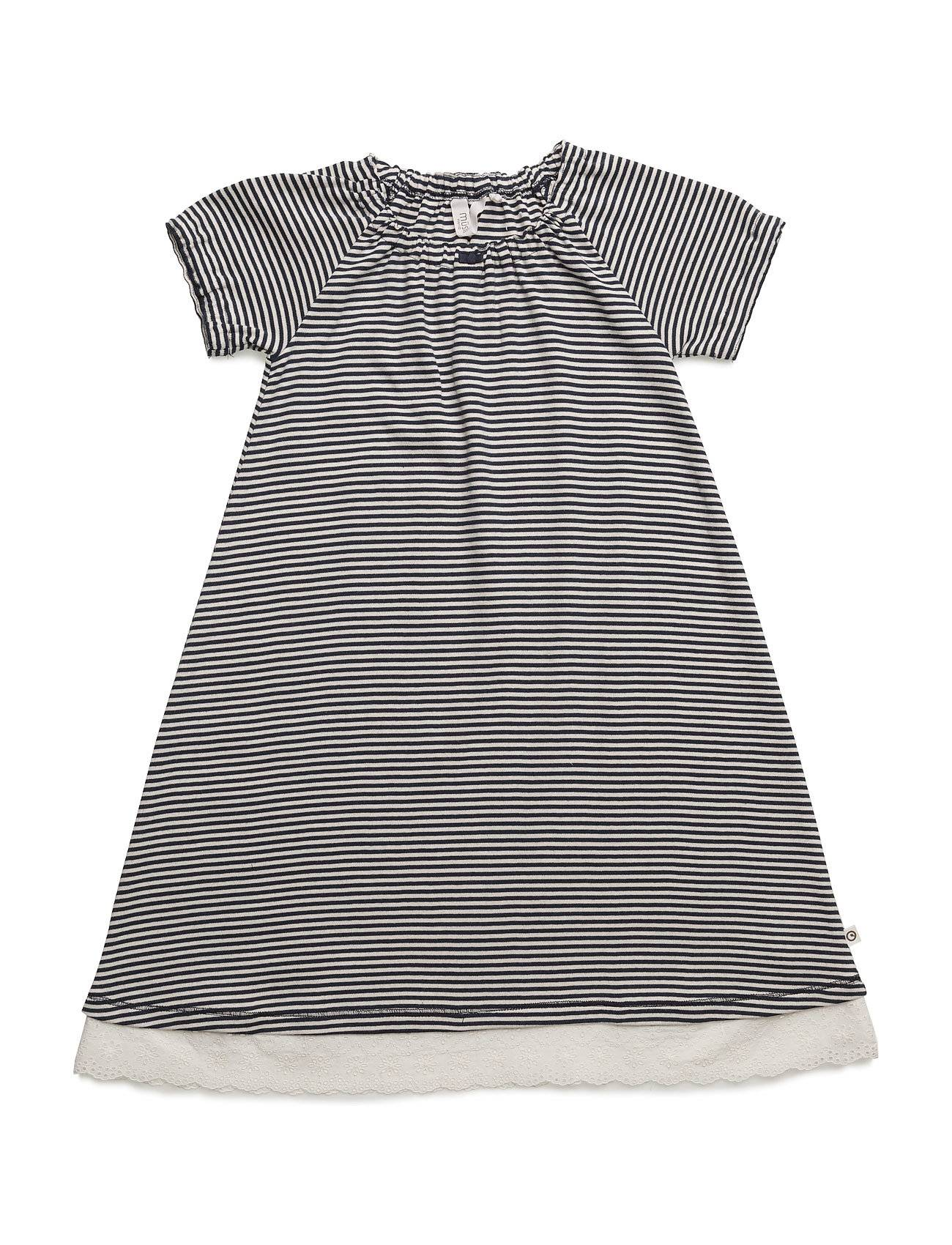 Müsli by Green Cotton Stripe S/Sl Dress