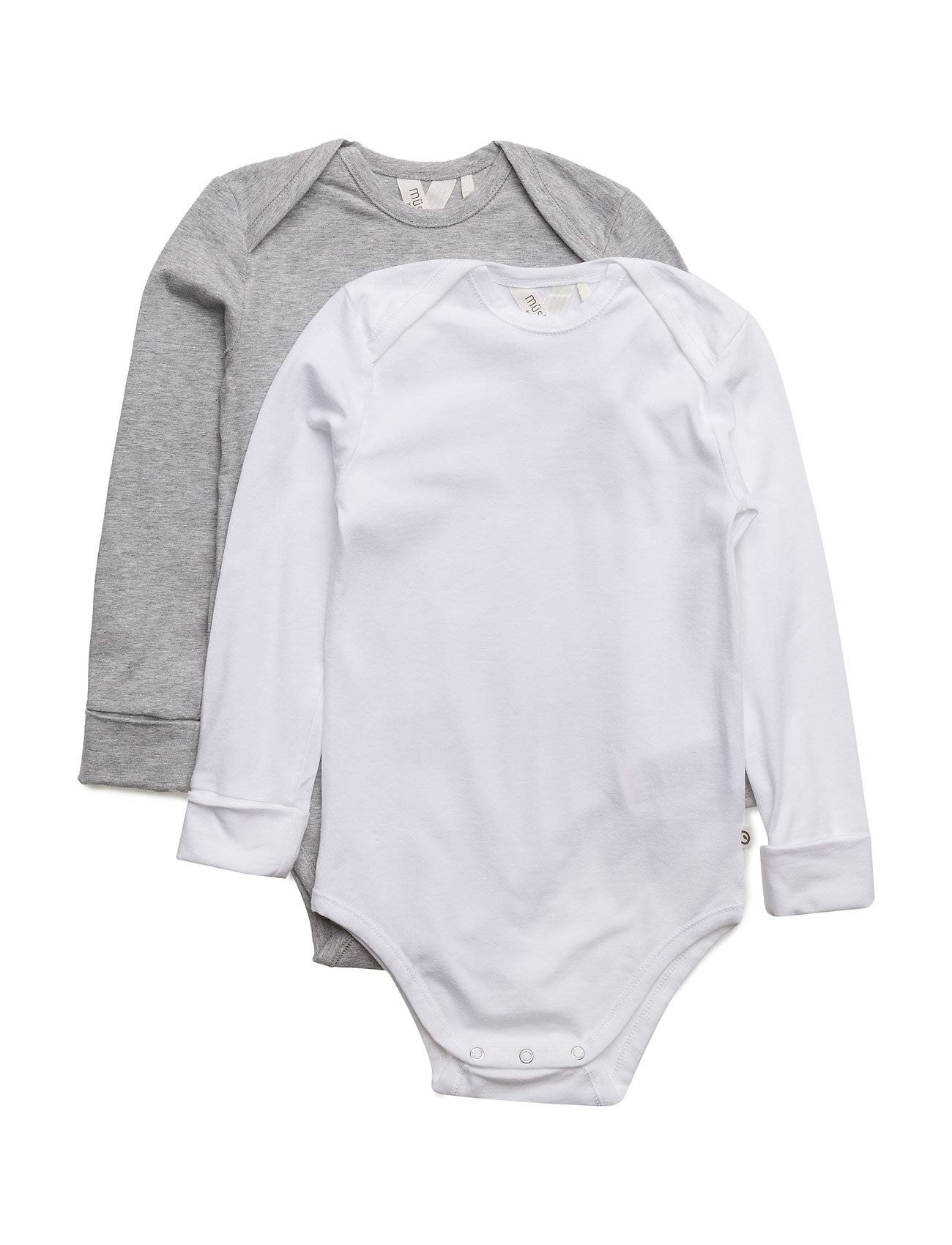 Müsli by Green Cotton 2-Pack Cozy Me L/Sl Body