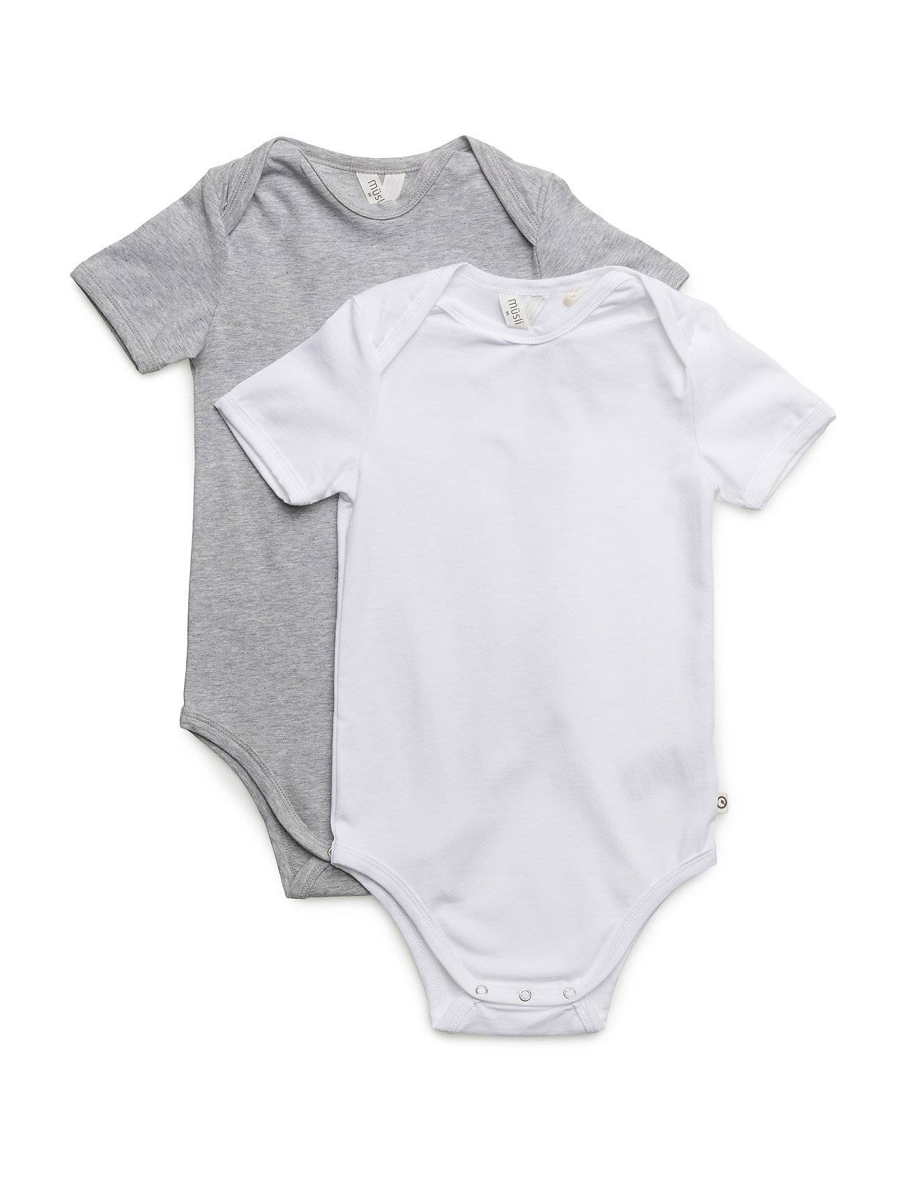 Müsli by Green Cotton 2-Pack Cozy Me S/Sl Body
