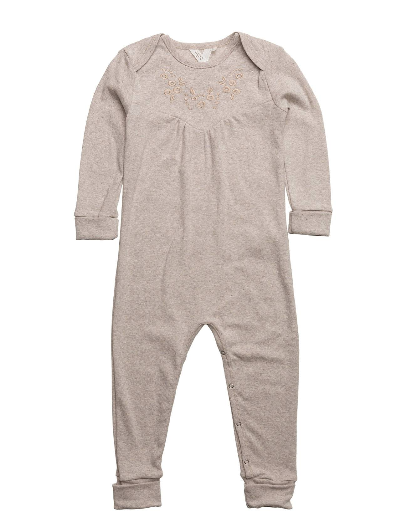 Müsli by Green Cotton Bedtime Bodysuit Girl