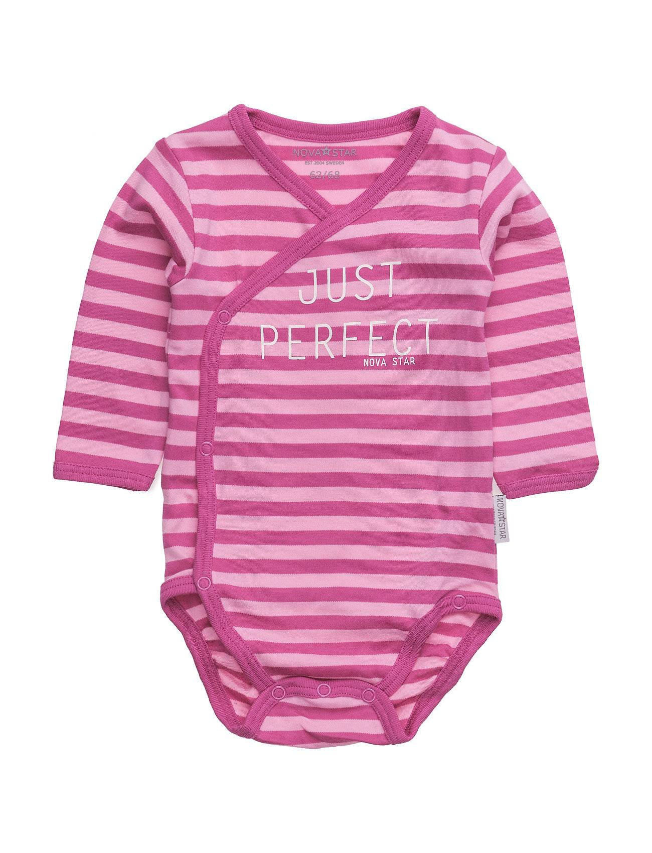 NOVA STAR Pink Striped Wrap Bo