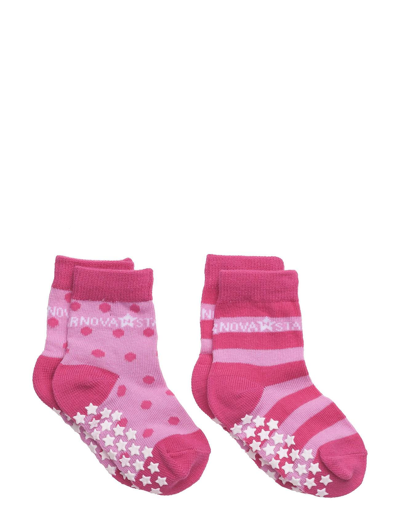 NOVA STAR Anti-Slip Pink Socks