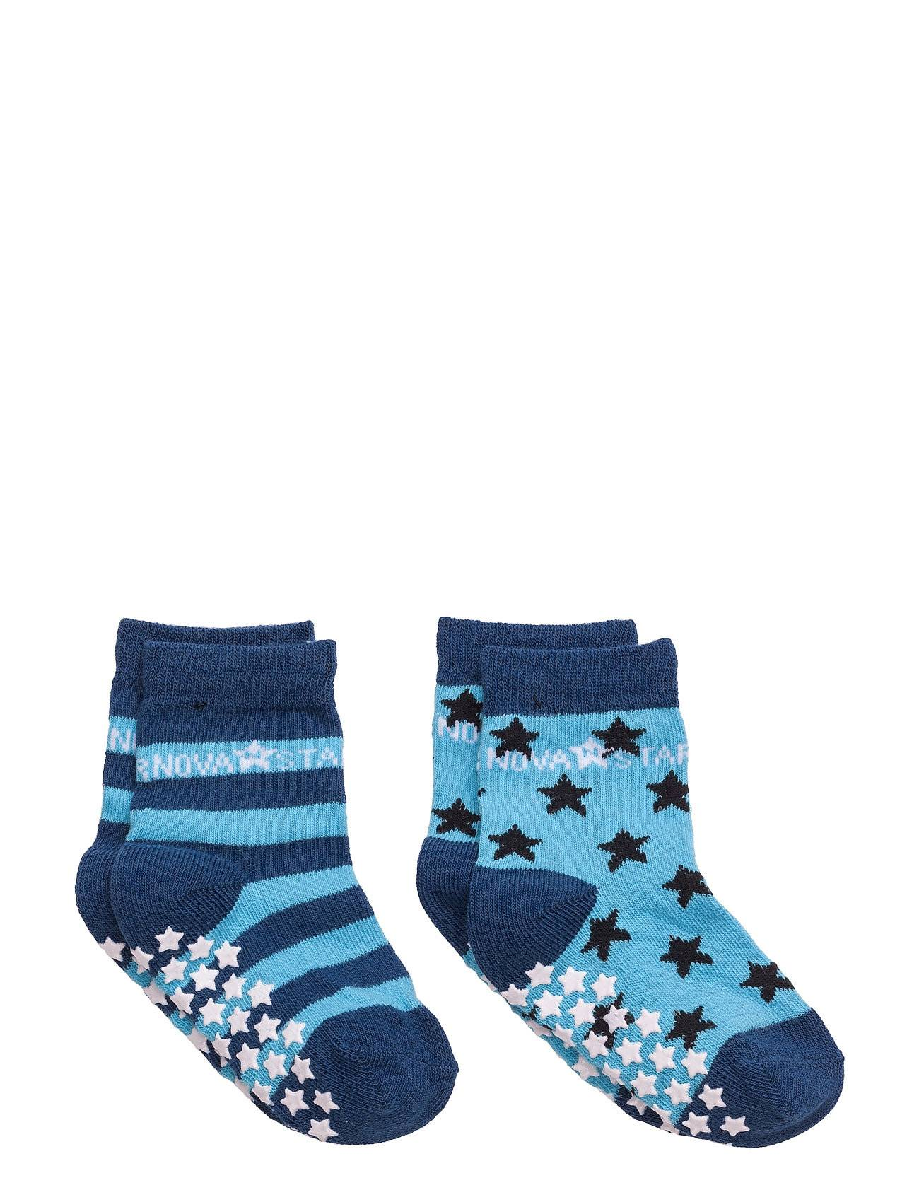 NOVA STAR Anti-Slip Blue Socks