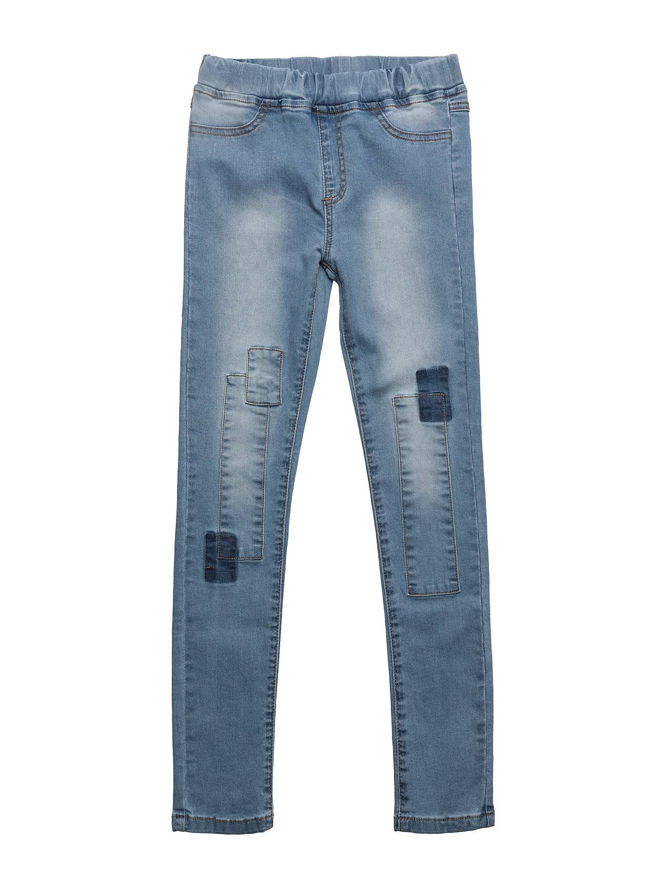 NOVA STAR Patched Slim Denim