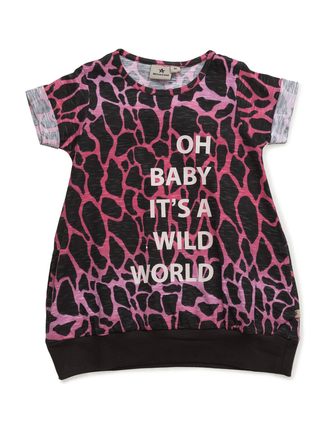 NOVA STAR Dress Wild World Pink Dress