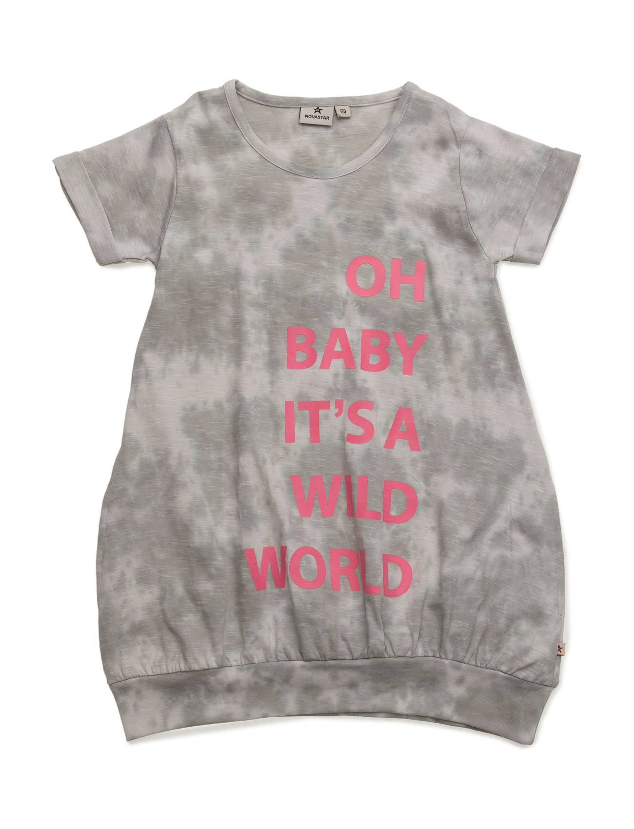 NOVA STAR Dress Wild World Grey