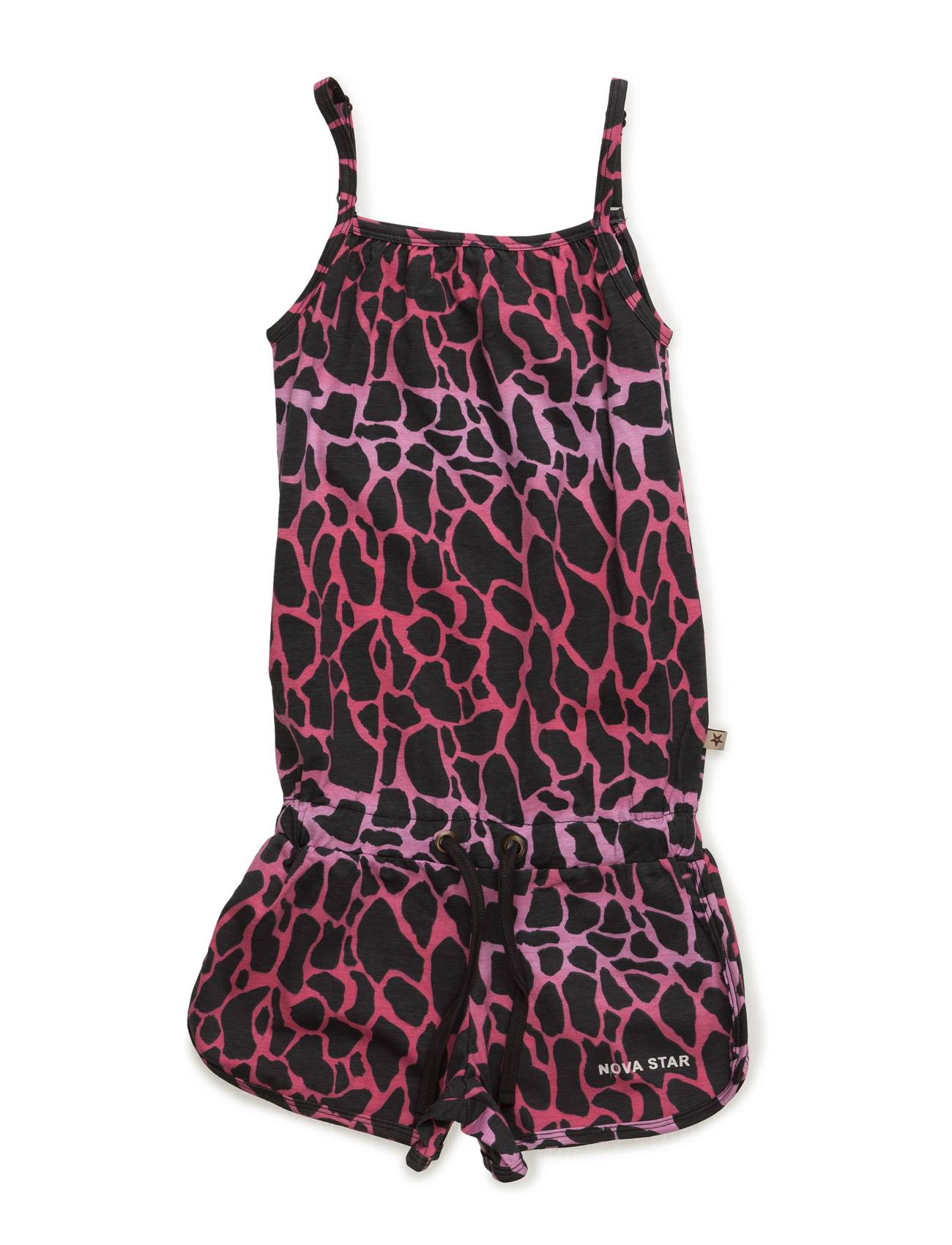 NOVA STAR Short Animal Jumpsuit Pink