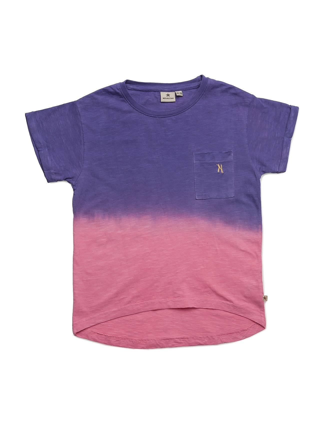 NOVA STAR Dip Dyed Purple T