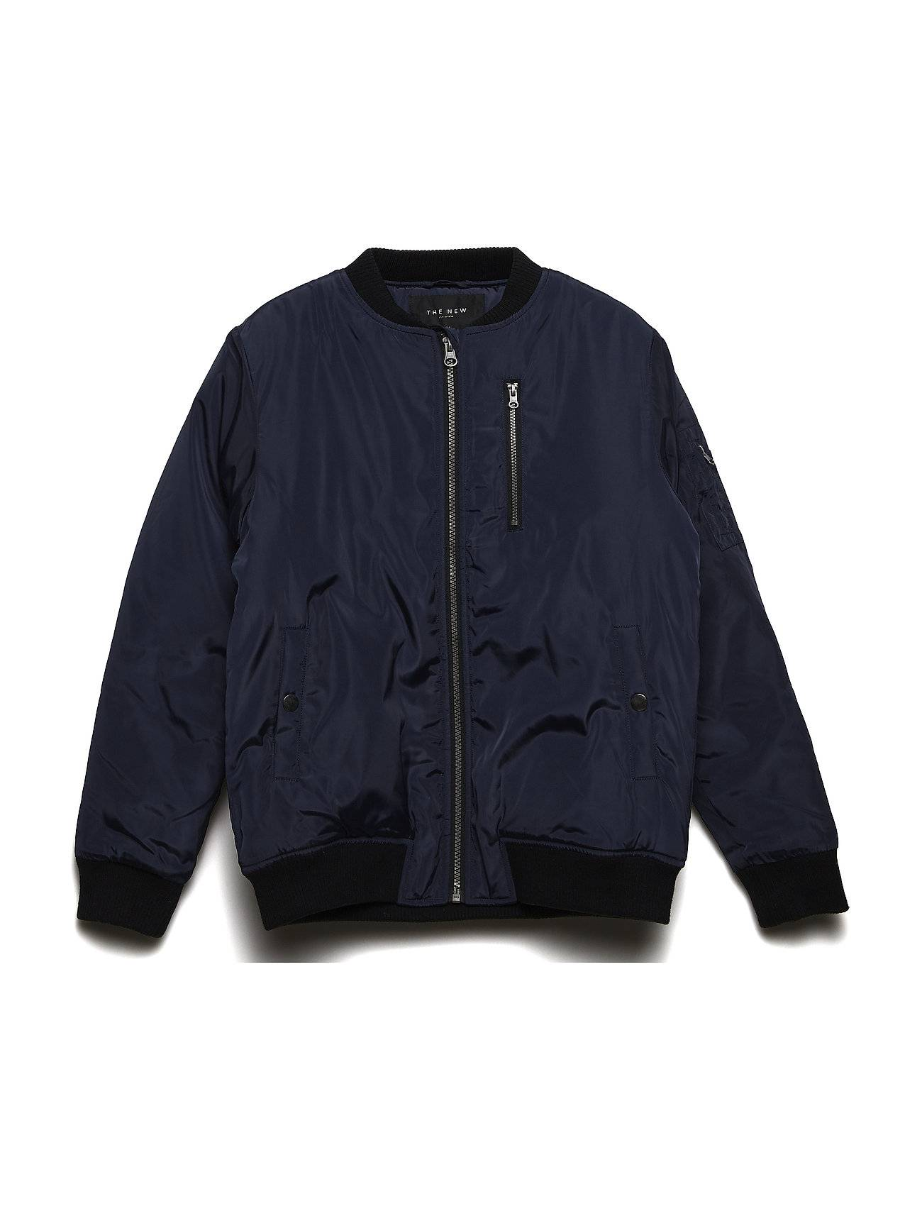The New Connor Bomber Jacket Black Iris