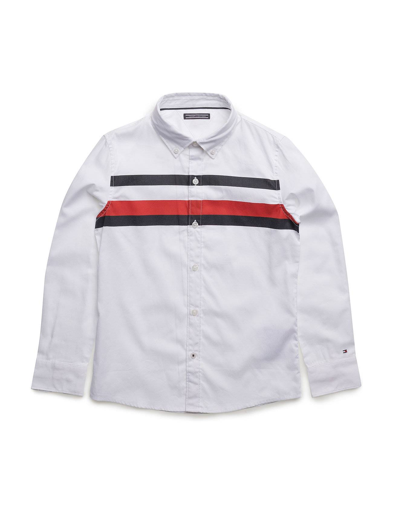 Tommy Hilfiger Printed Global Stripe Shirt L/S