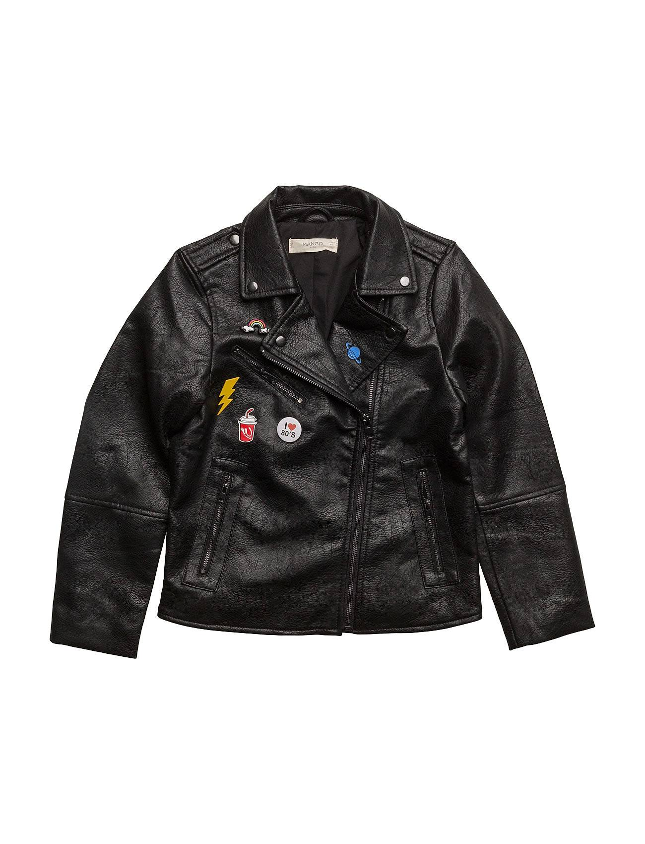 Mango Kids Appliqu Biker Jacket