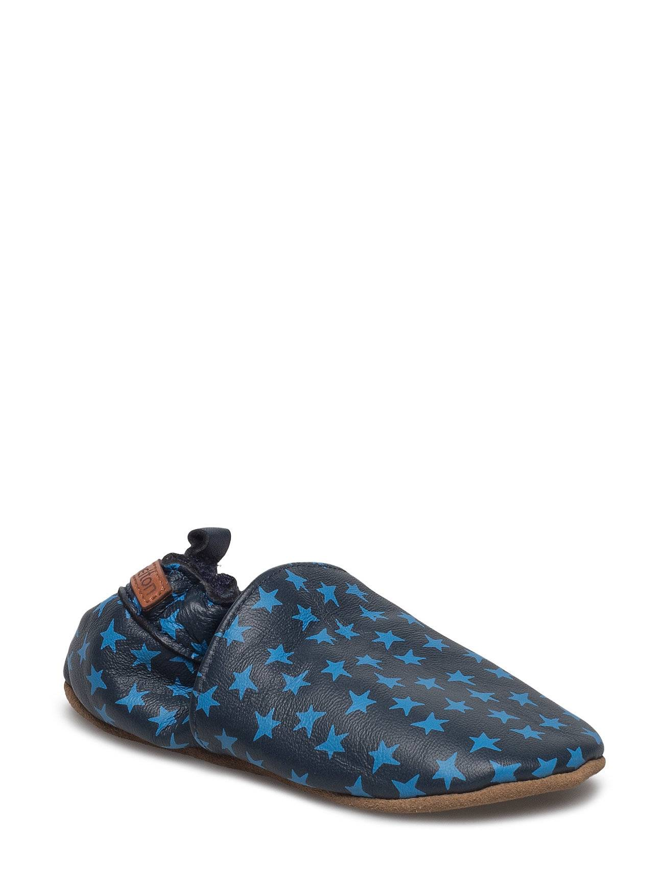 Melton Leather Shoe - Loafer With Print