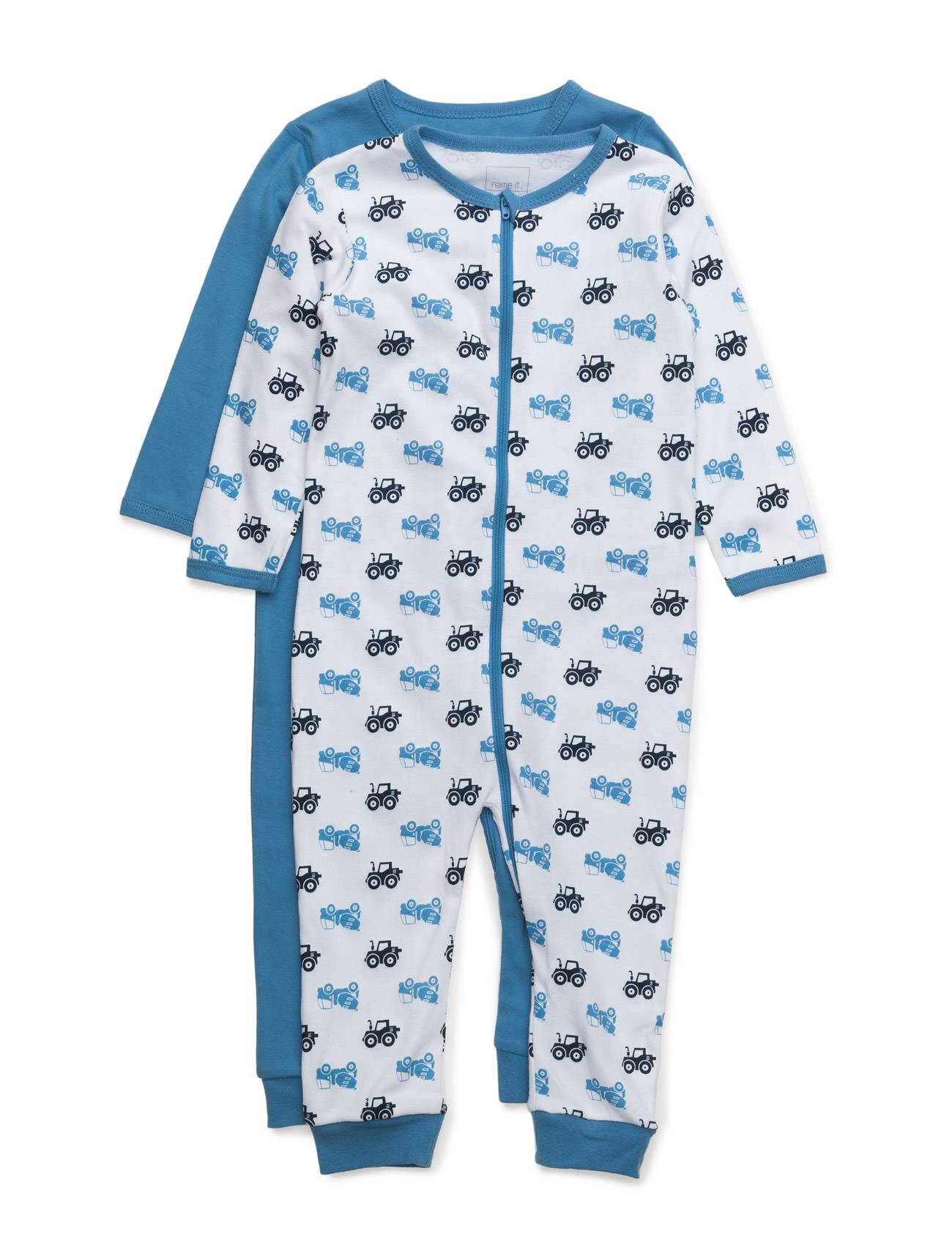 name it Nitnightsuit 2p Zip Regatta M B Noos