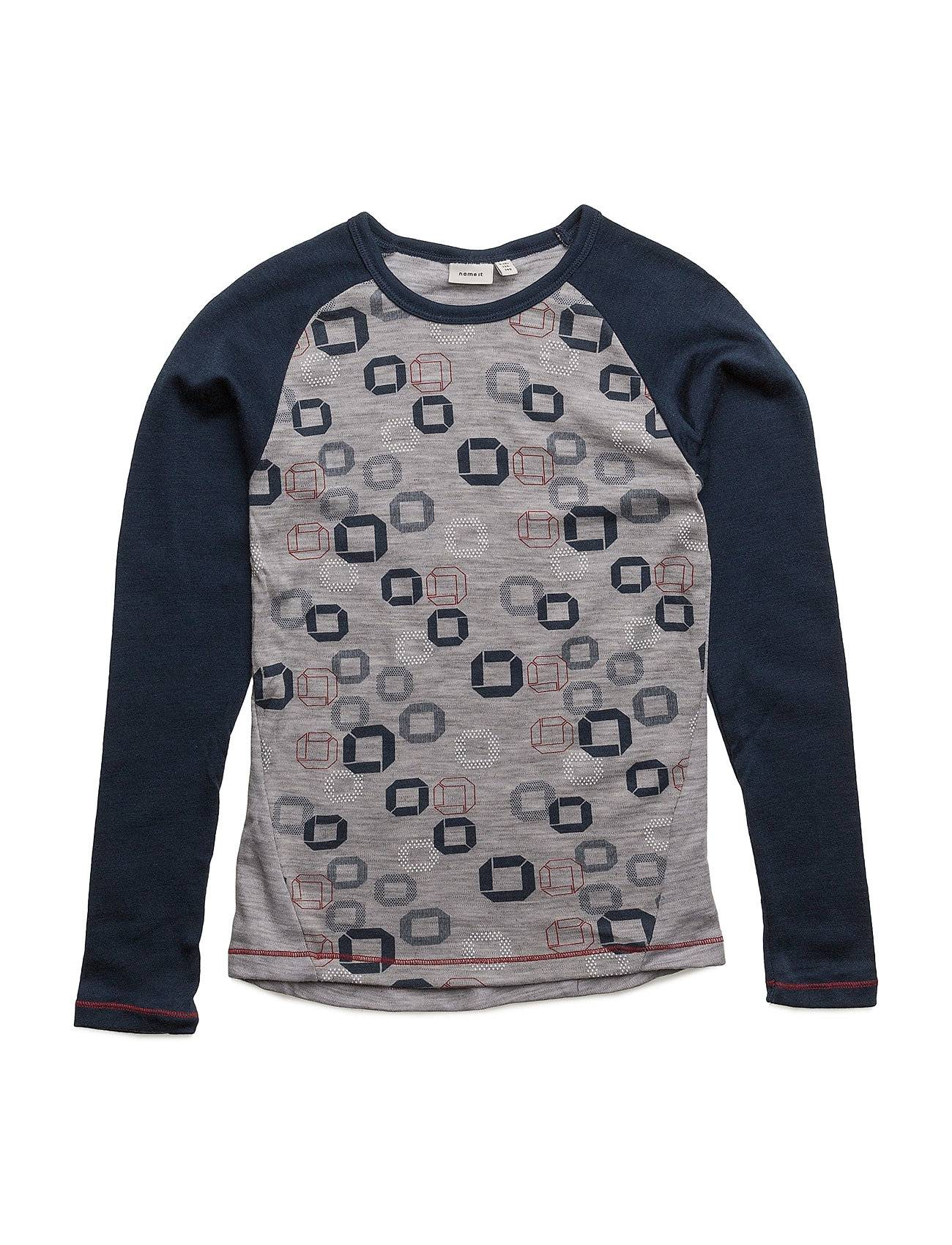 name it Nitwilltoche Wool Ls Top Nmt Noos