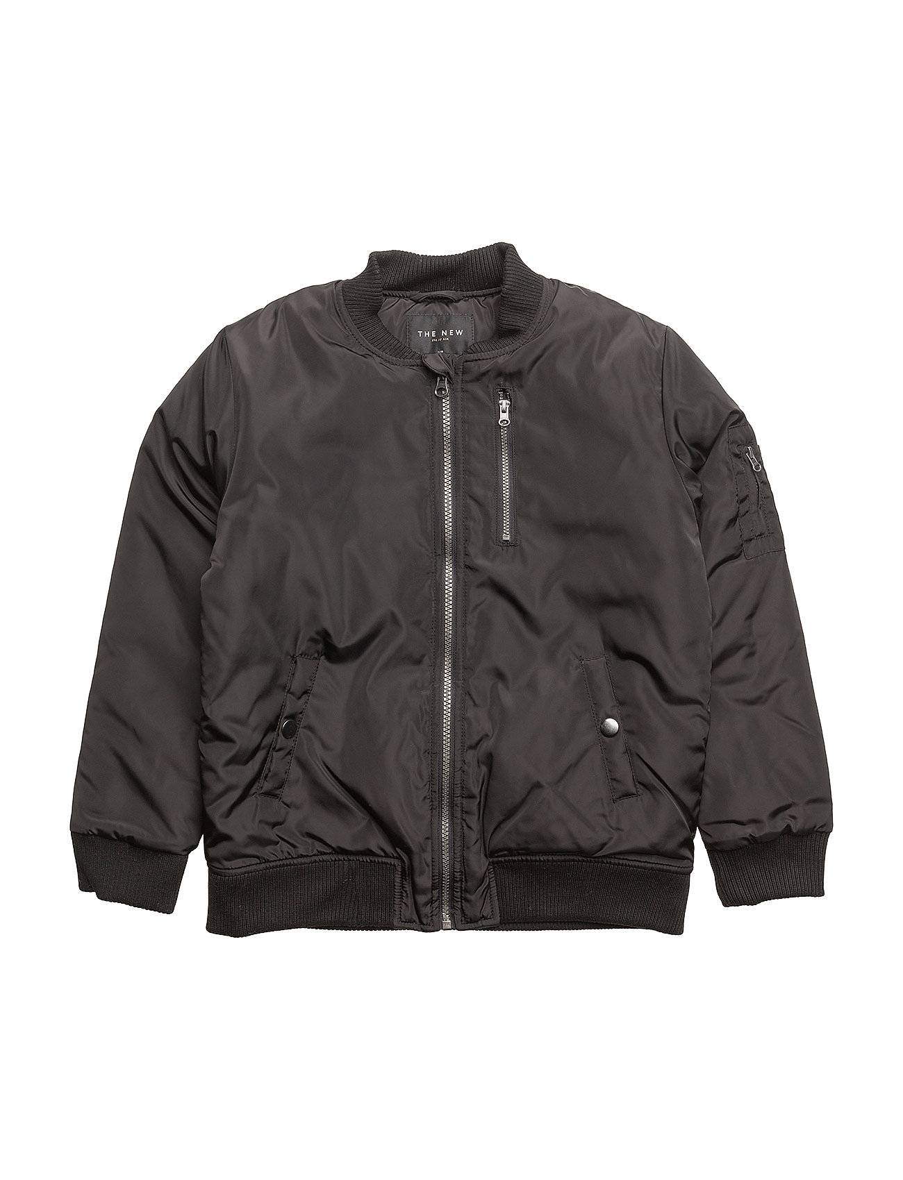 The New Connor Bomber Jacket Black