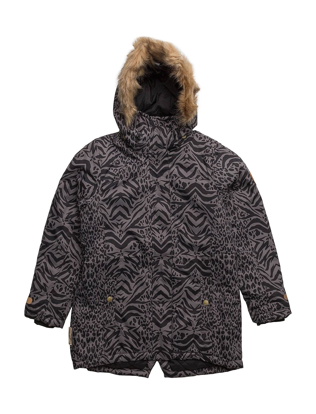 Ticket to Heaven Mary Jacket With Detachable Hood Allover