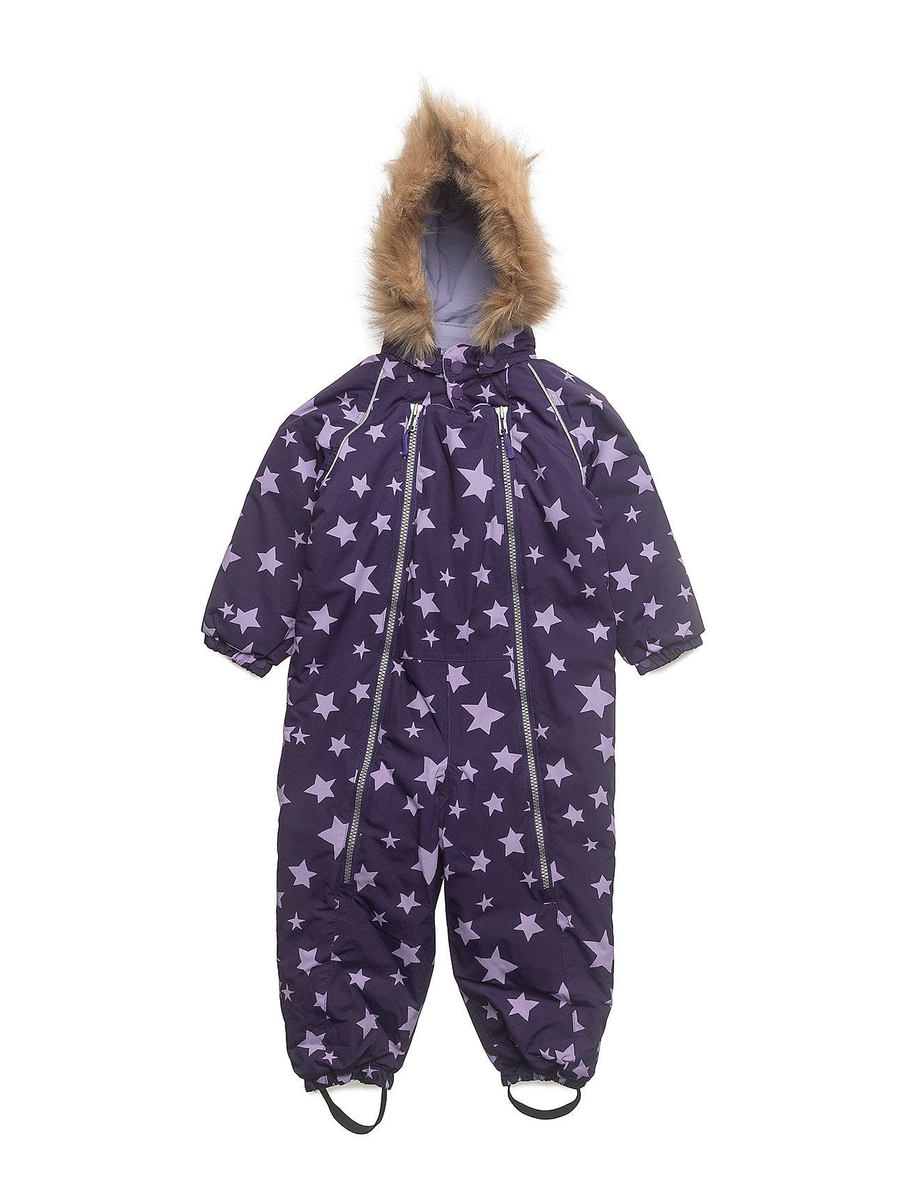 Ticket to Heaven Baggie Snowsuit With Detachable Hood Allover