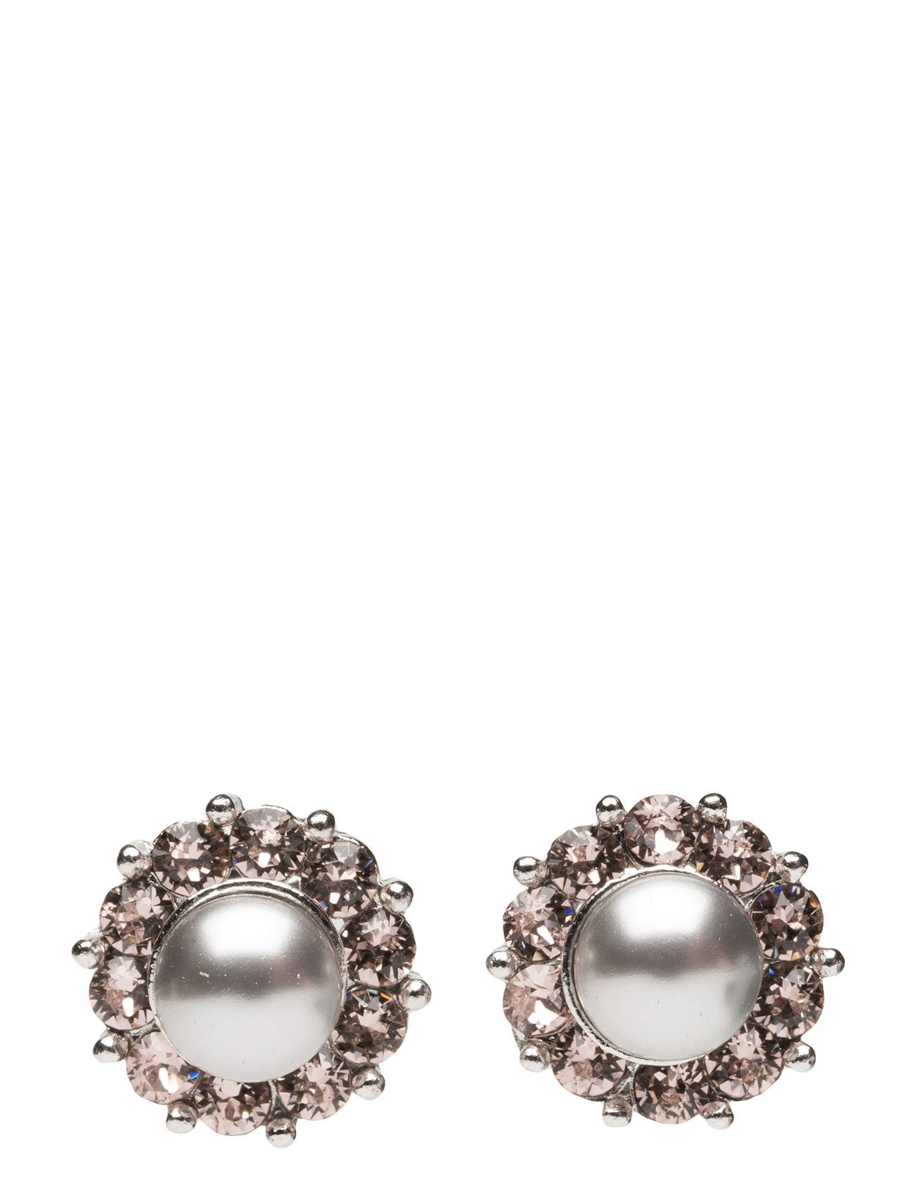 LILY AND ROSE Miss Sofia Pearl Earrings Vintage Grey