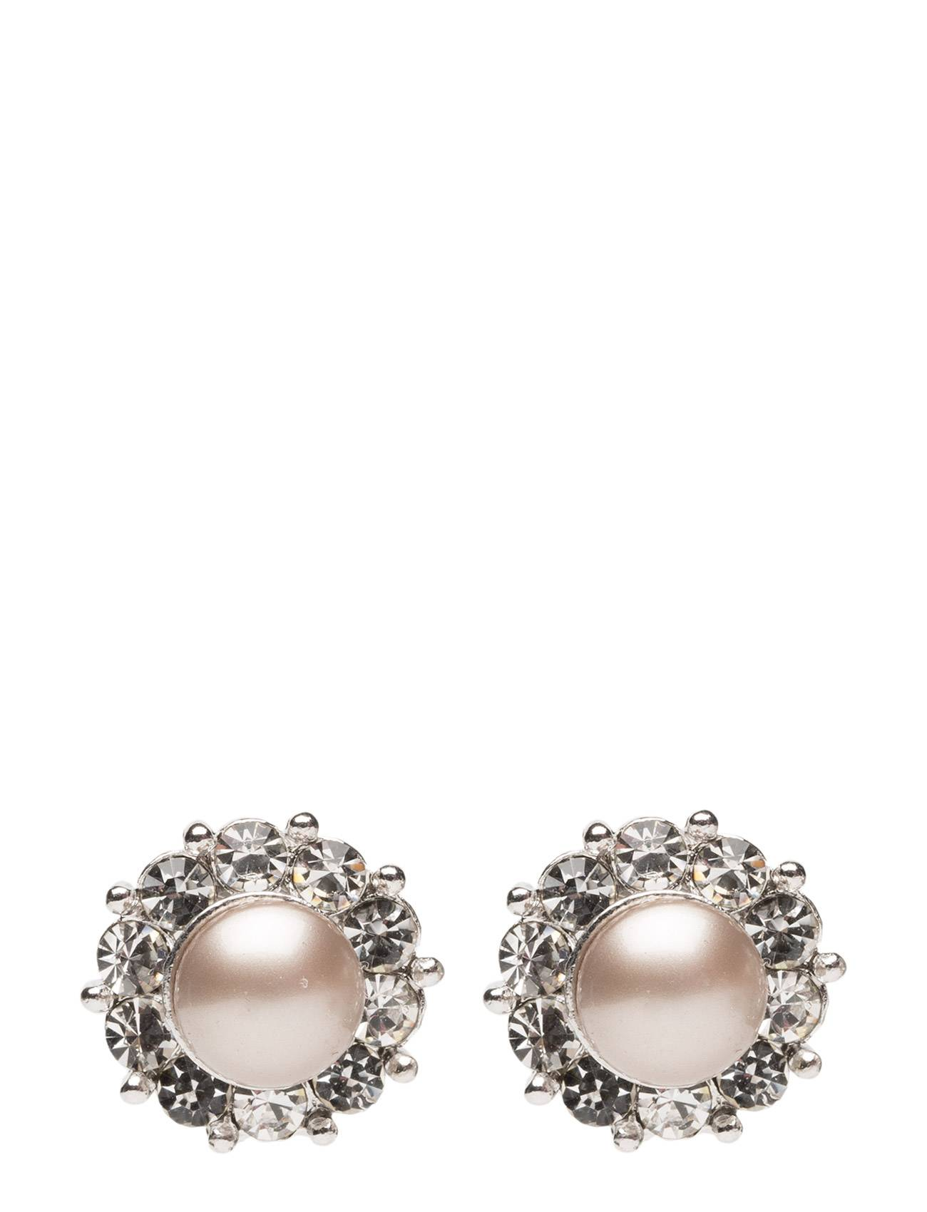 LILY AND ROSE Miss Sofia Pearl Earrings Powder Almond