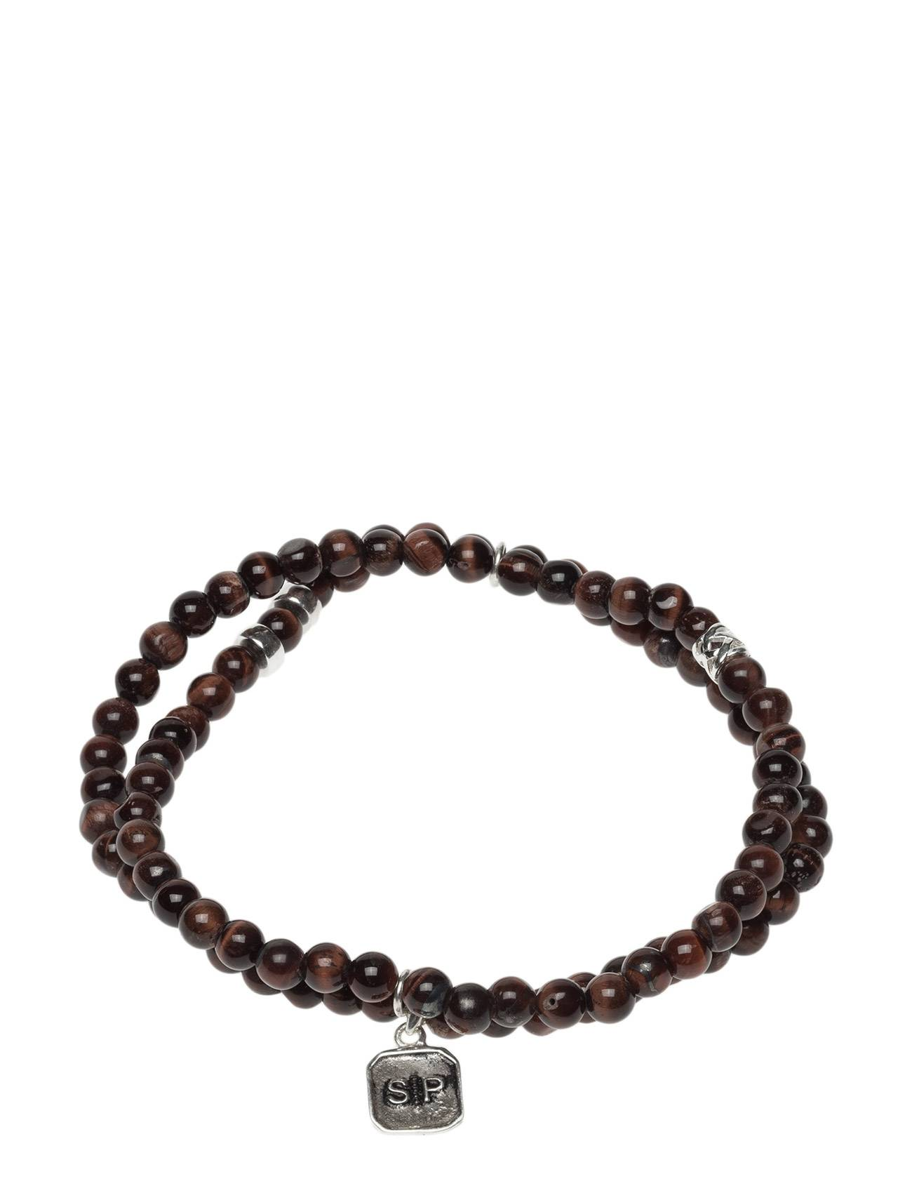 Syster P Chris Double Bracelet Red Tiger Eye
