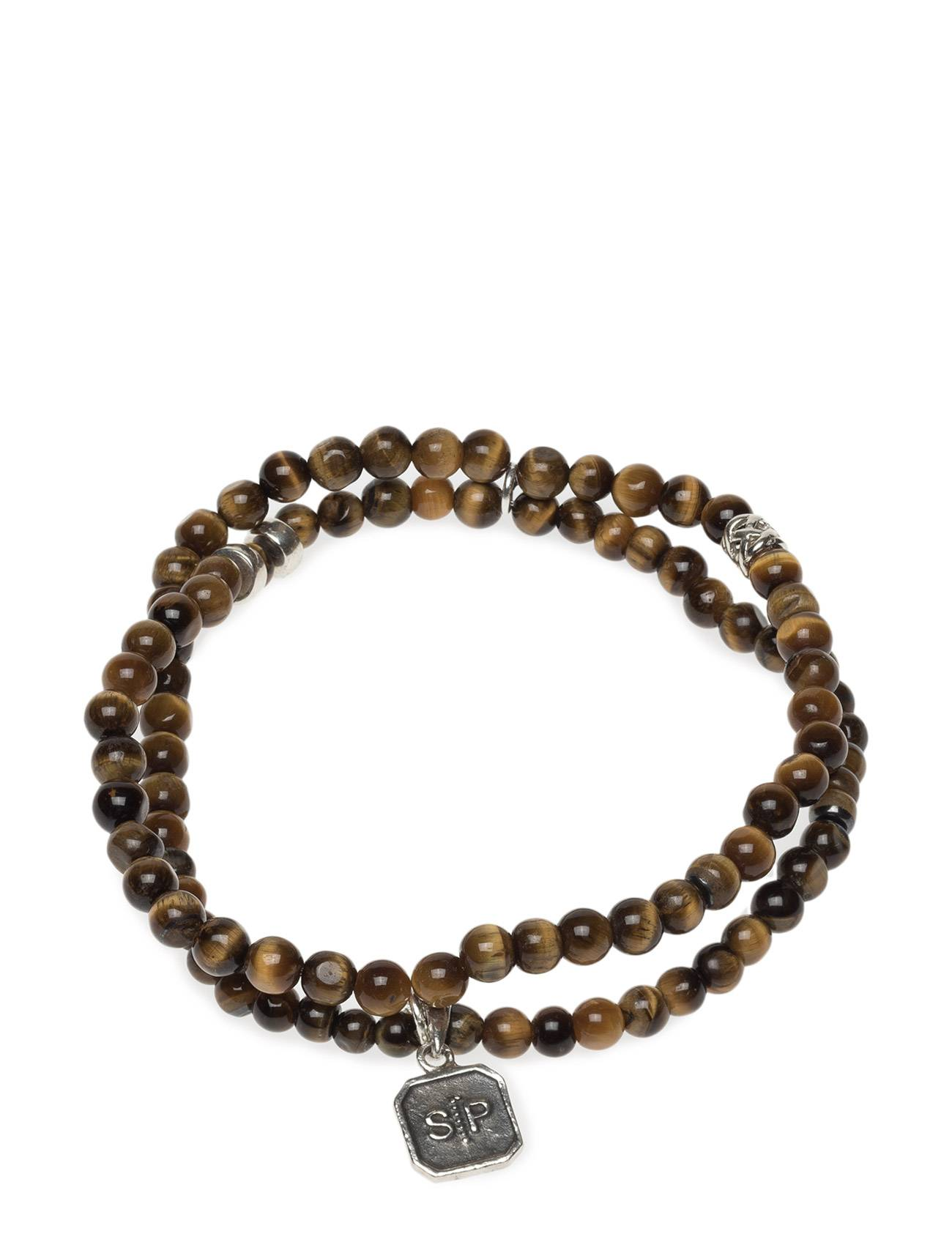 Syster P Chris Double Bracelet Tiger Eye