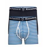 Knowledge Cotton Apparel Underwear 2pack Striped/Solid Gots